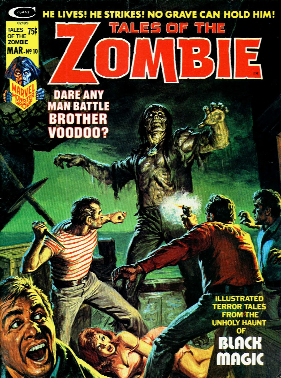 Zombie (1973) issue 10 - Page 1