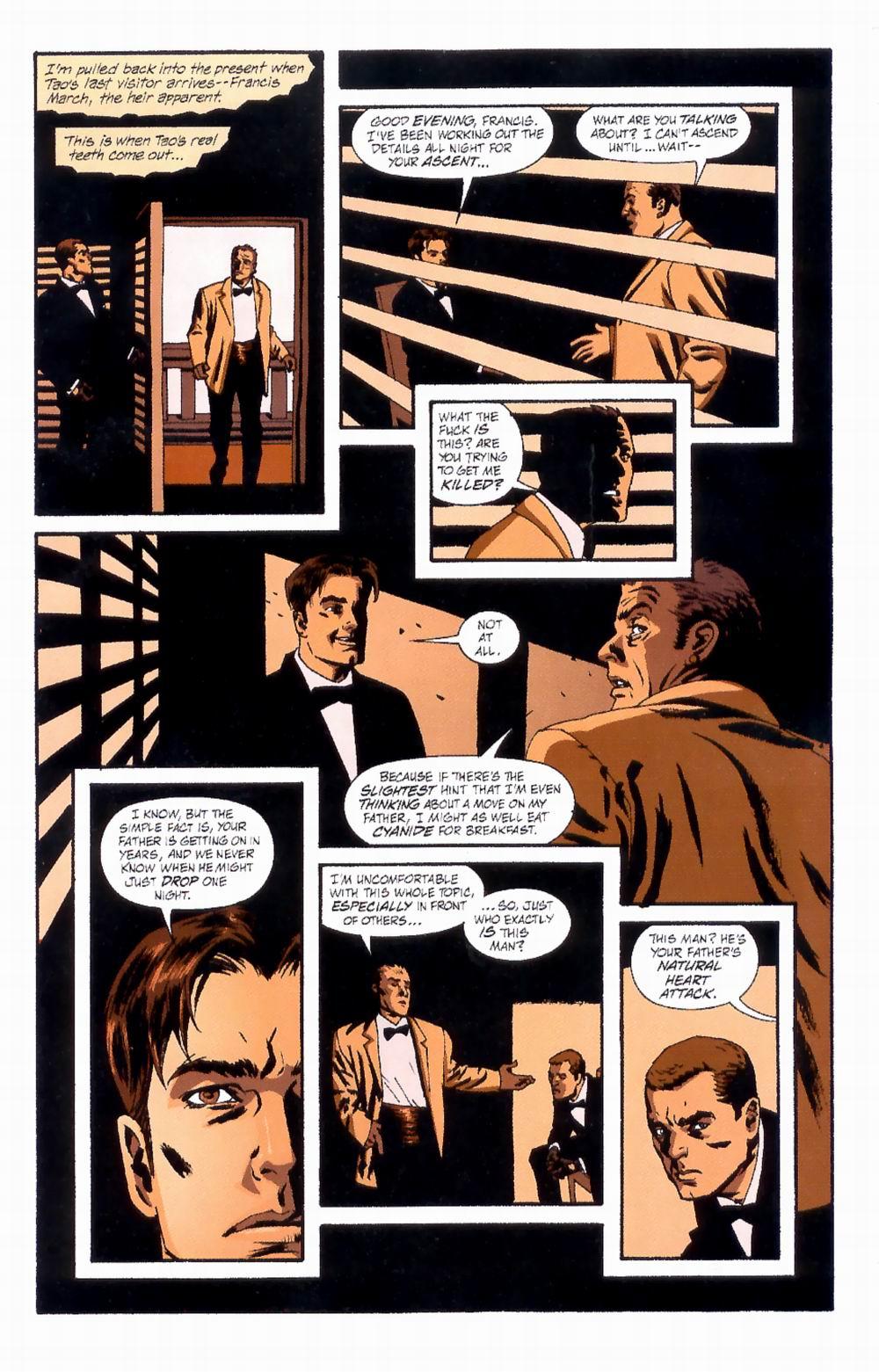 Read online Sleeper comic -  Issue #4 - 14