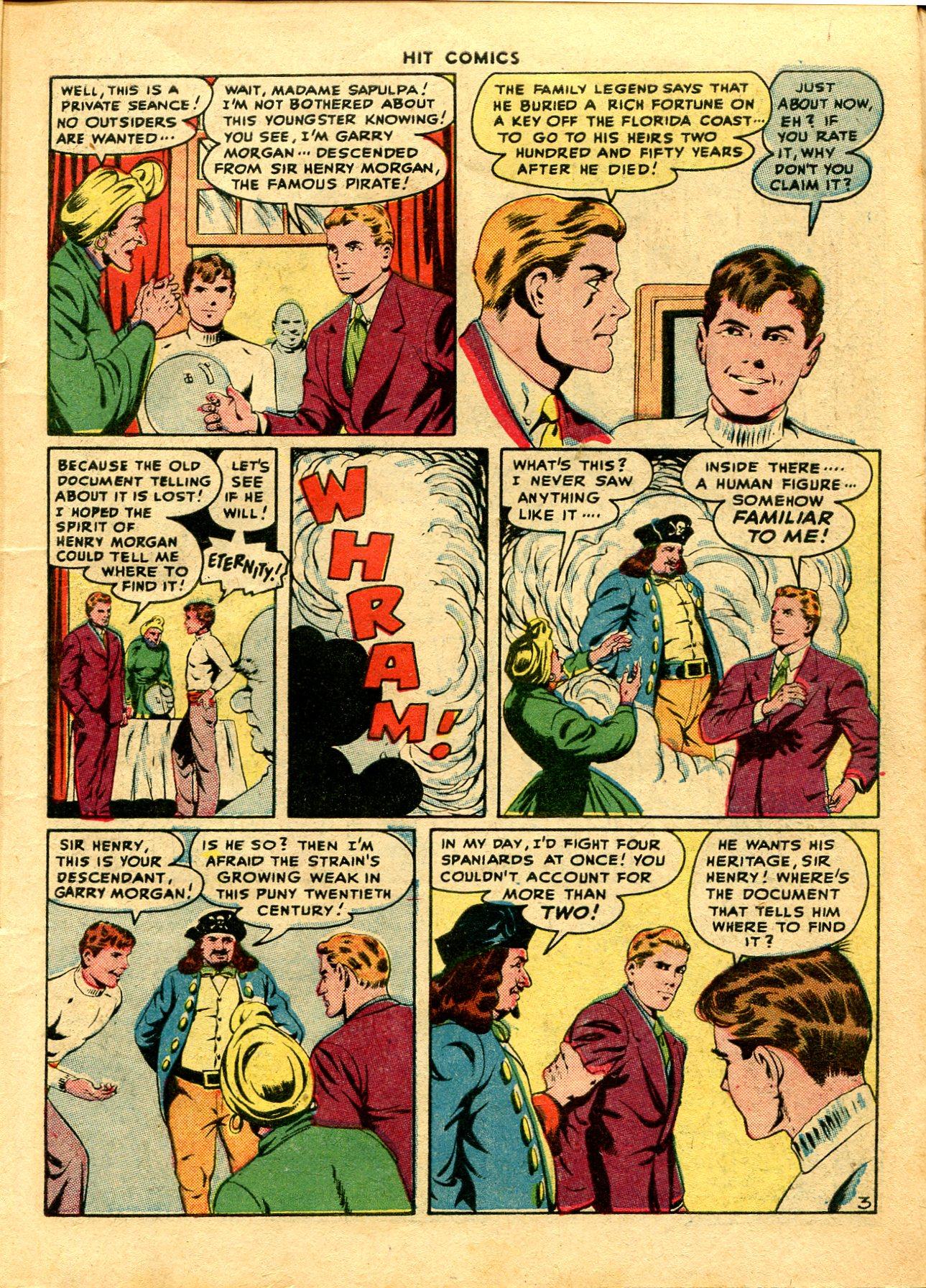 Read online Hit Comics comic -  Issue #48 - 5