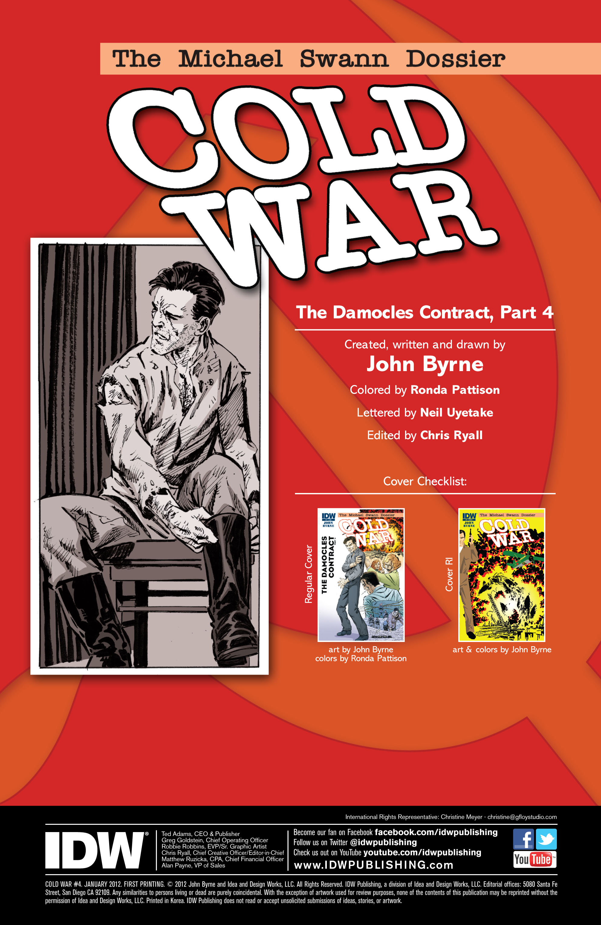 Read online Cold War comic -  Issue # TPB - 84