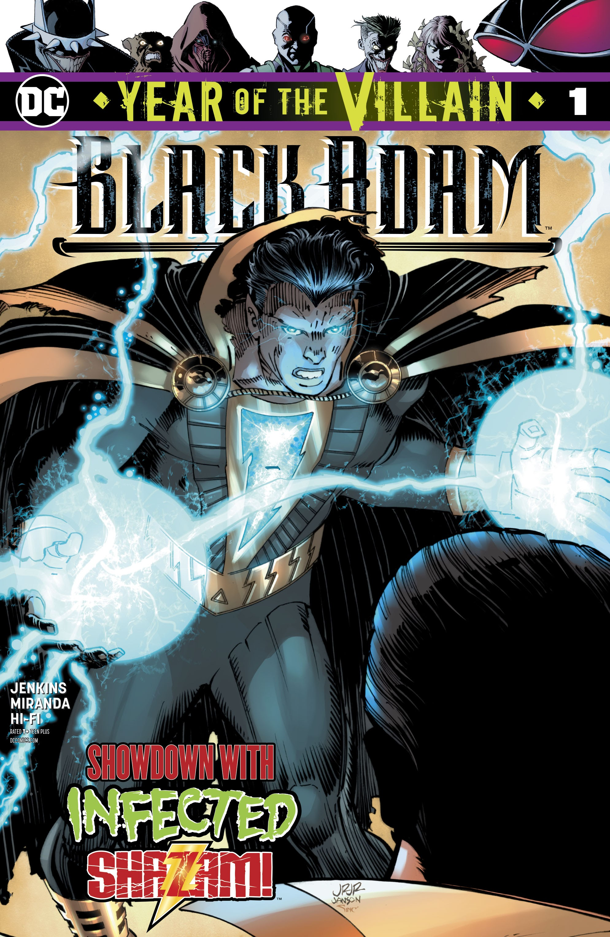 Black Adam: Year of the Villain Full Page 1
