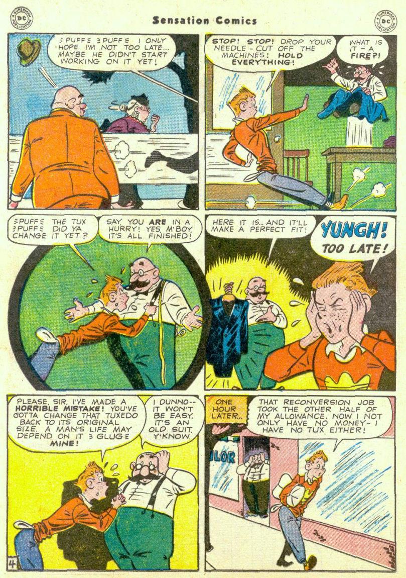 Read online Sensation (Mystery) Comics comic -  Issue #67 - 28