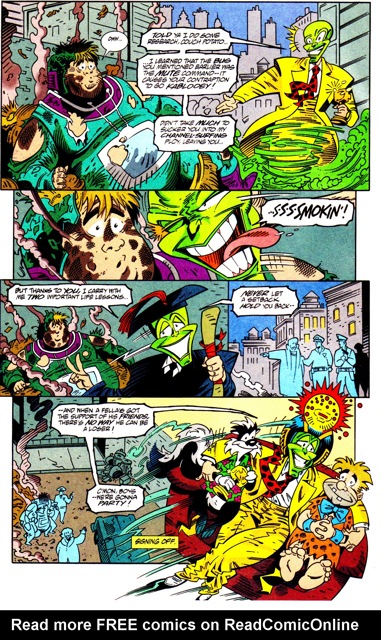 Read online Adventures Of The Mask comic -  Issue #7 - 24