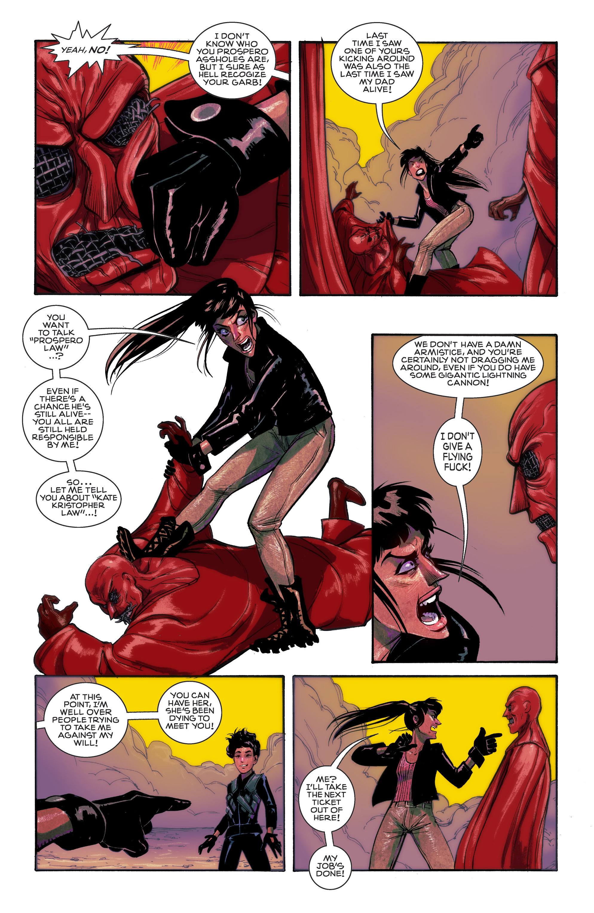 Read online Shutter comic -  Issue #11 - 17