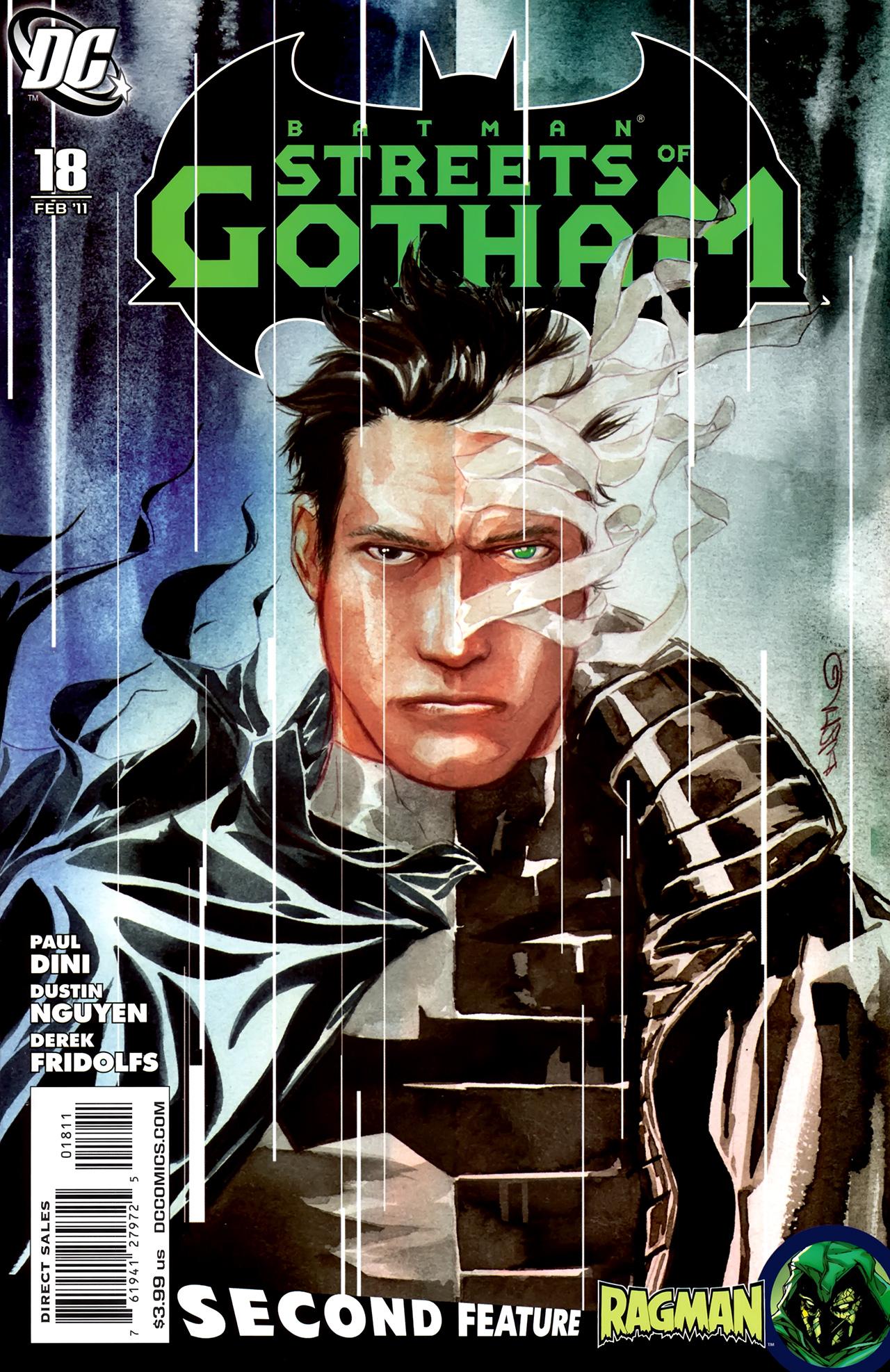 Batman: Streets Of Gotham 18 Page 1