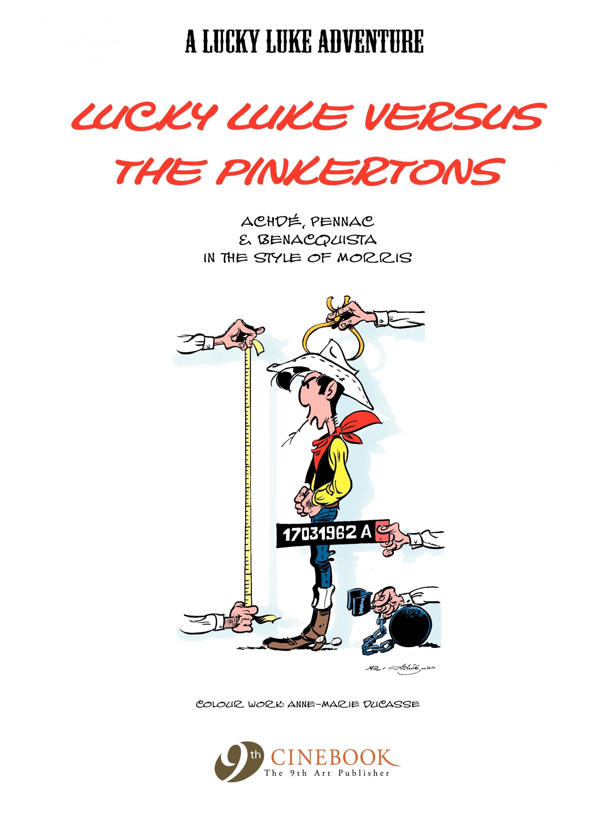 A Lucky Luke Adventure 31 Page 2