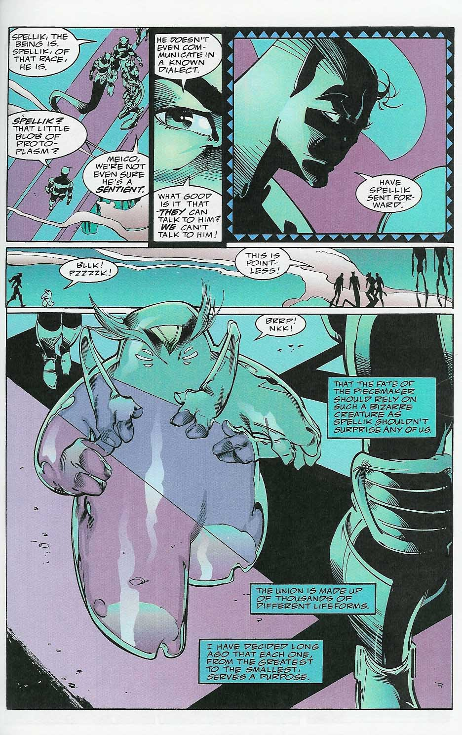 Alien Legion: On the Edge issue 2 - Page 28