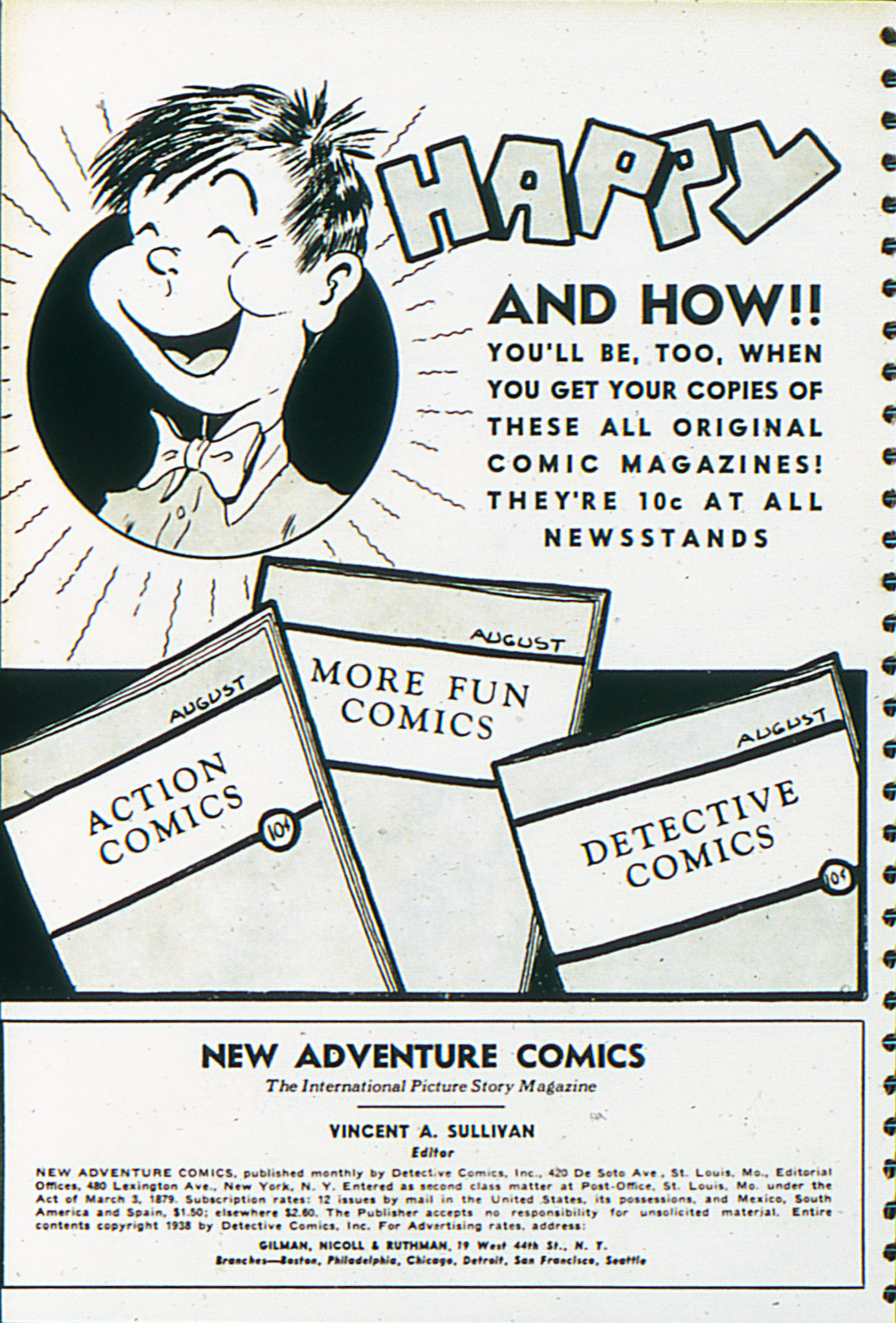 Read online Adventure Comics (1938) comic -  Issue #29 - 3