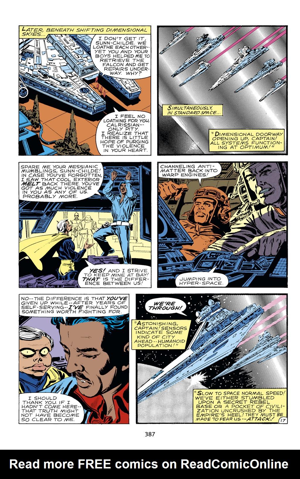Read online Star Wars Omnibus comic -  Issue # Vol. 14 - 383
