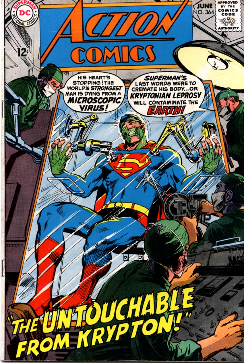 Read online Action Comics (1938) comic -  Issue #364 - 2