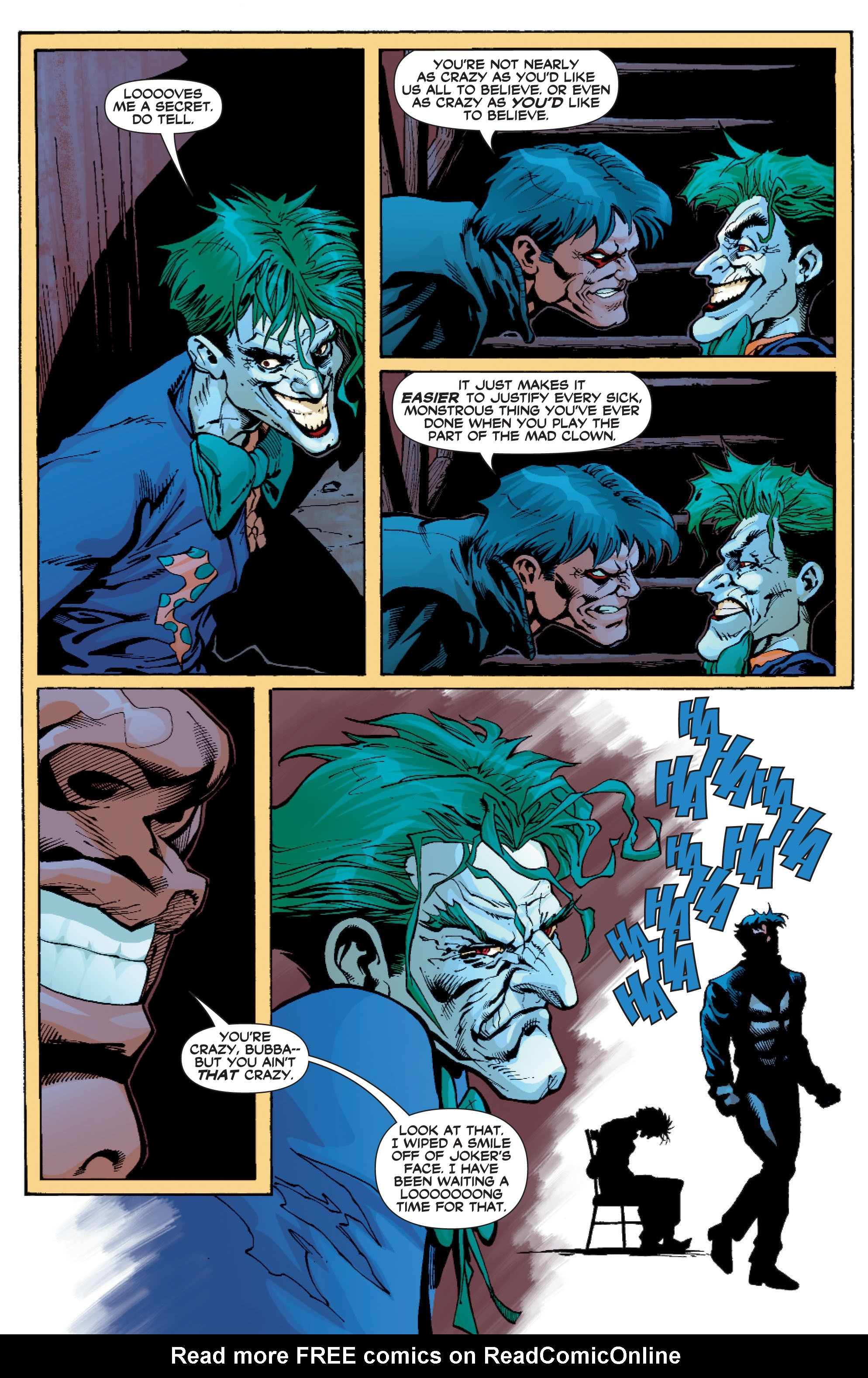 Read online Batman: Under The Red Hood comic -  Issue # Full - 284