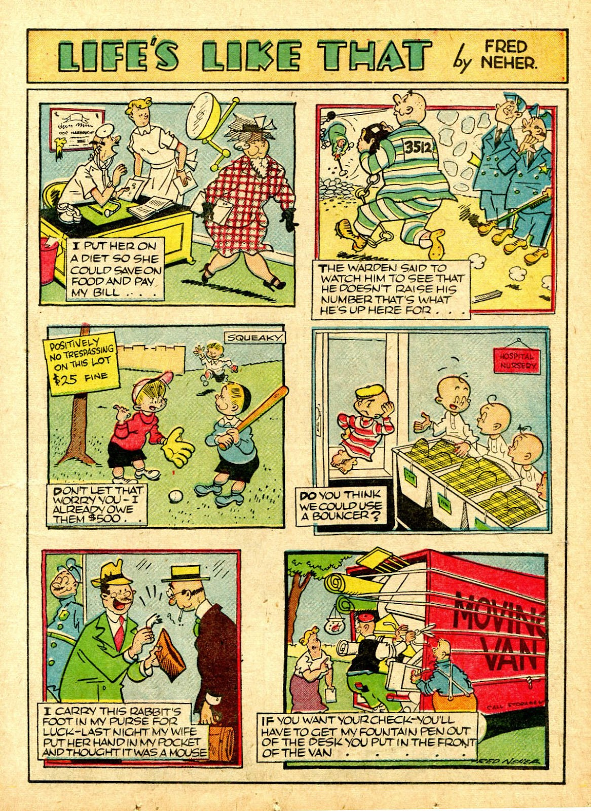 Read online Famous Funnies comic -  Issue #63 - 20