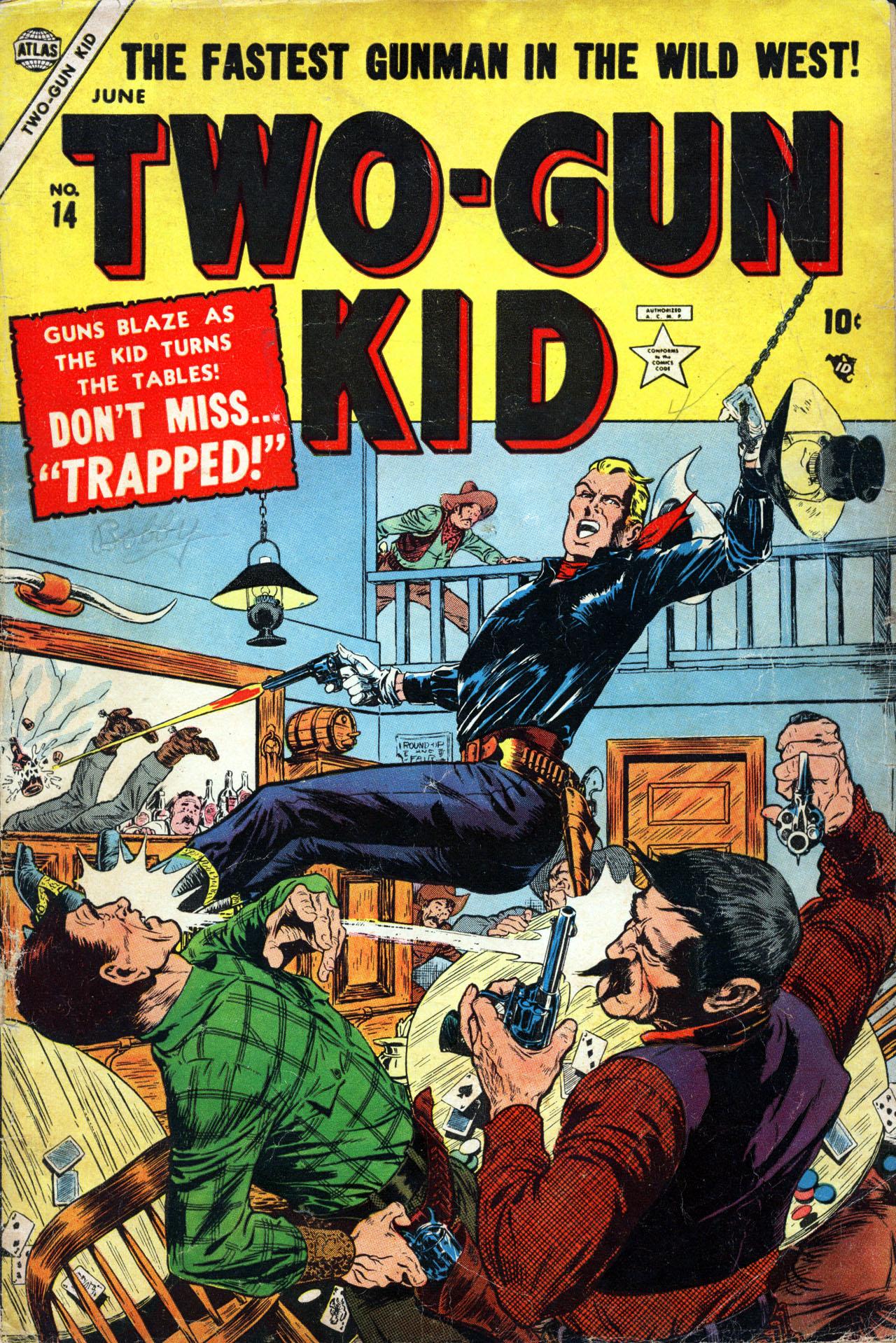 Read online Two-Gun Kid comic -  Issue #14 - 1