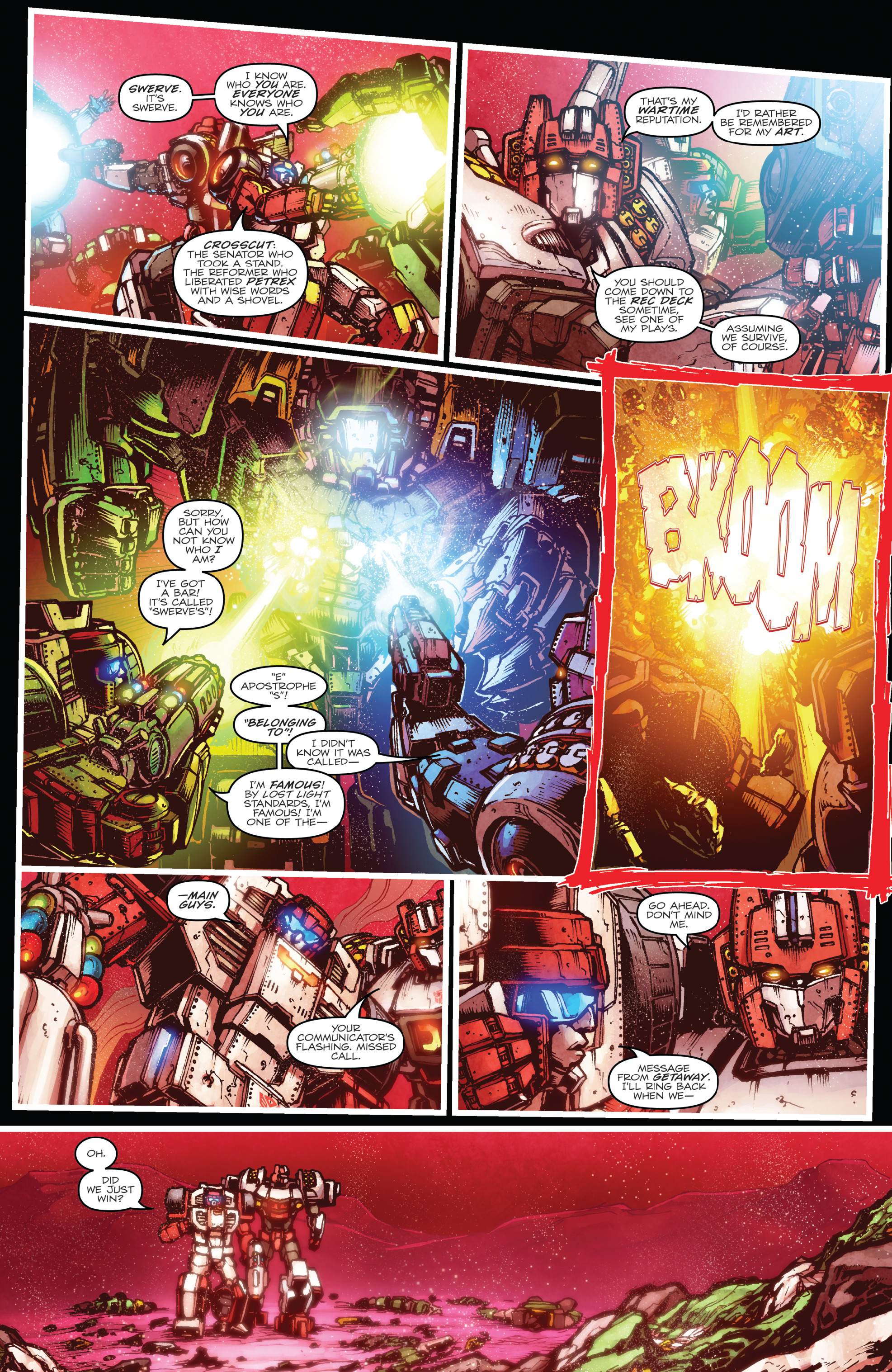 Read online The Transformers: Dark Cybertron Finale comic -  Issue # Full - 7