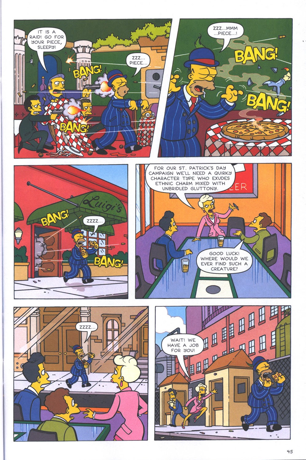 Read online The Simpsons Winter Wingding comic -  Issue #3 - 47