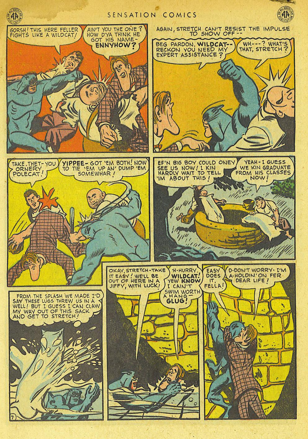 Read online Sensation (Mystery) Comics comic -  Issue #42 - 48