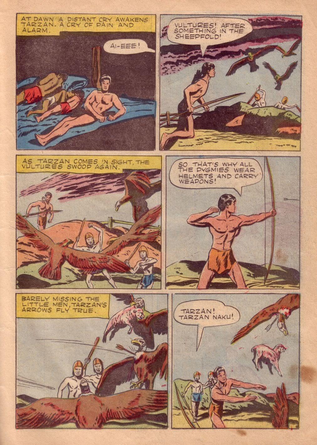 Tarzan (1948) issue 8 - Page 21