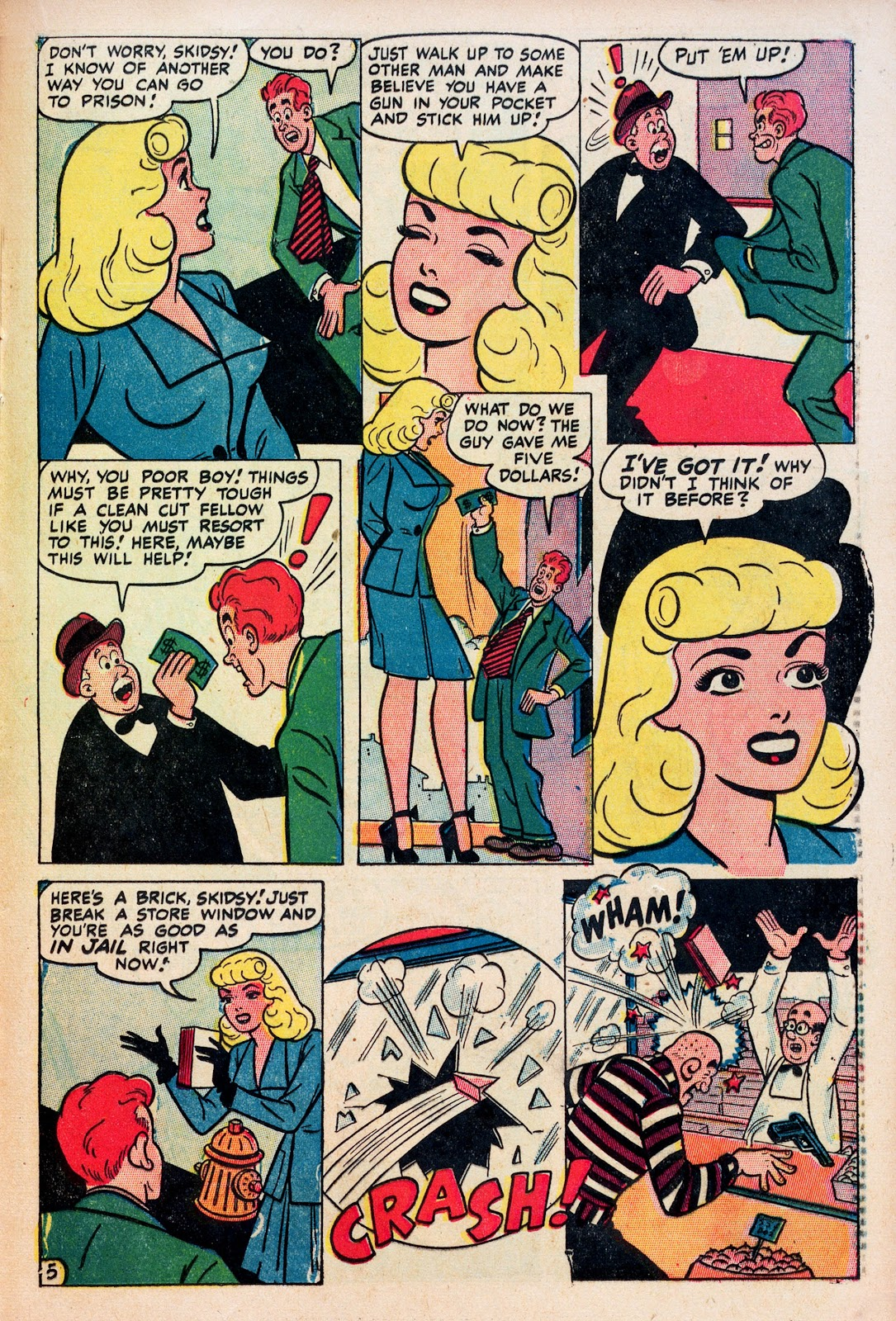 Read online Comedy Comics (1948) comic -  Issue #1 - 22