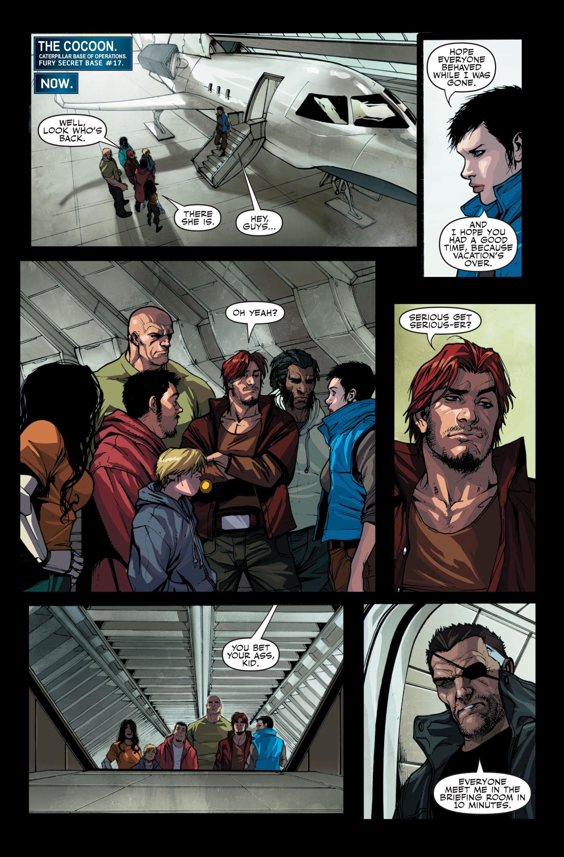 Read online Secret Warriors comic -  Issue #13 - 19