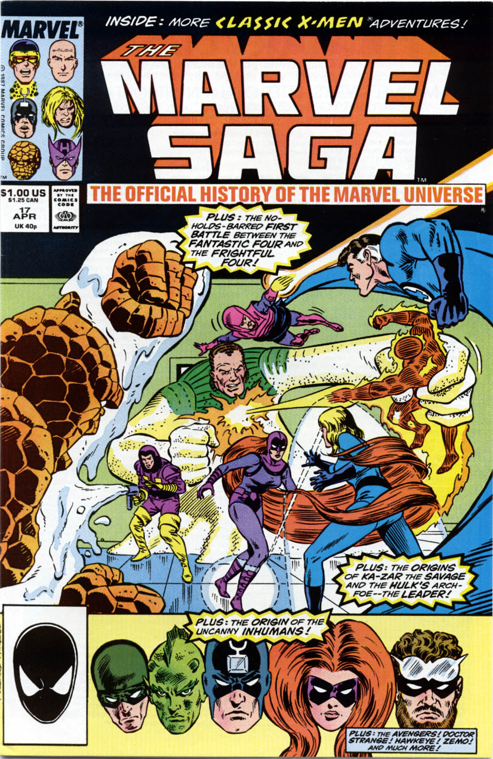 Marvel Saga: The Official History of the Marvel Universe issue 17 - Page 1
