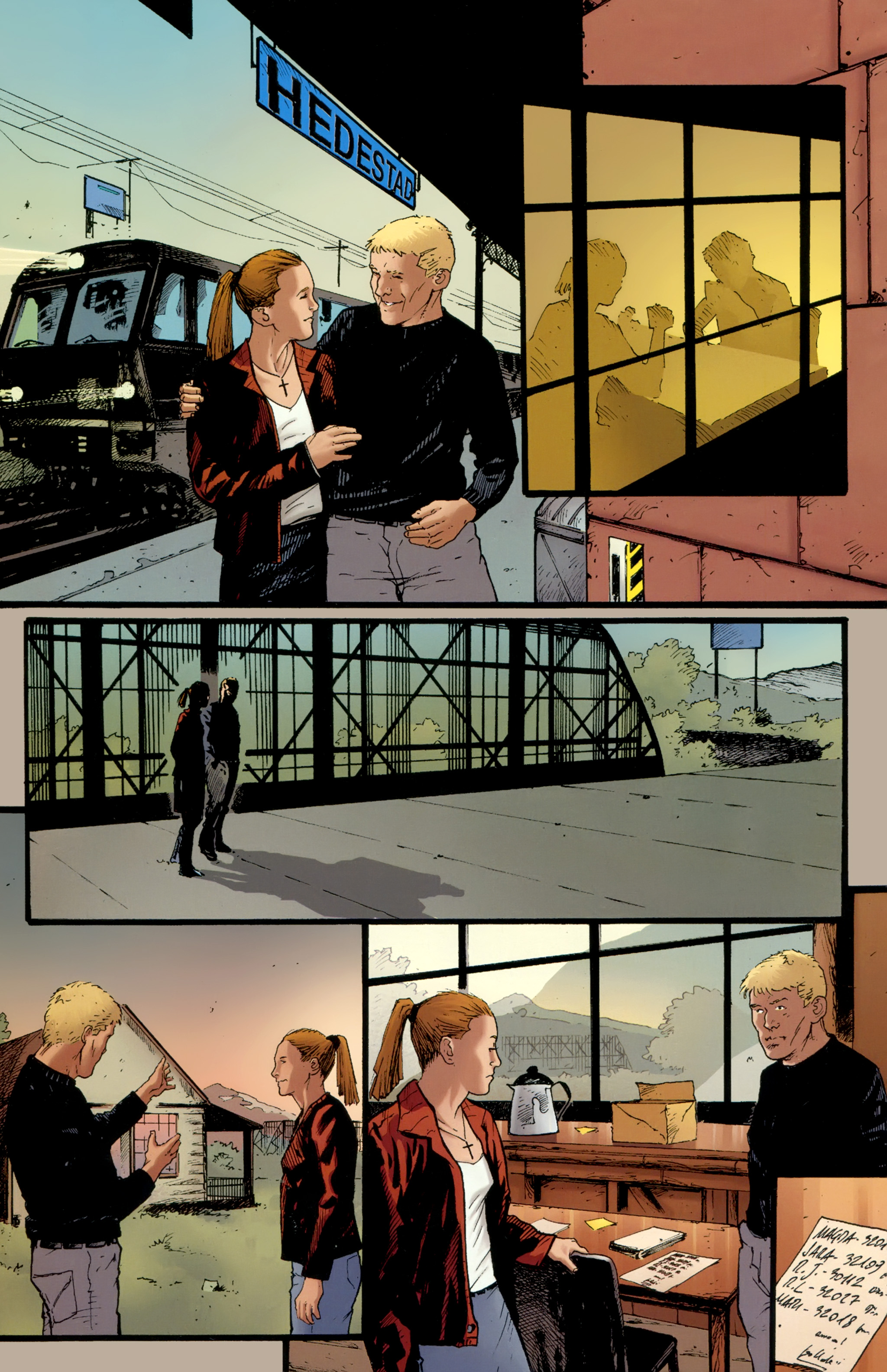Read online The Girl With the Dragon Tattoo comic -  Issue # TPB 2 - 31