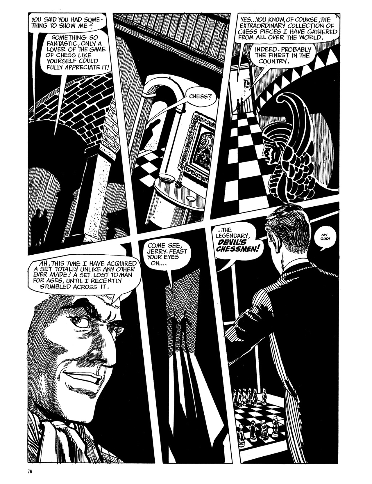 Read online Eerie Archives comic -  Issue # TPB 5 - 77