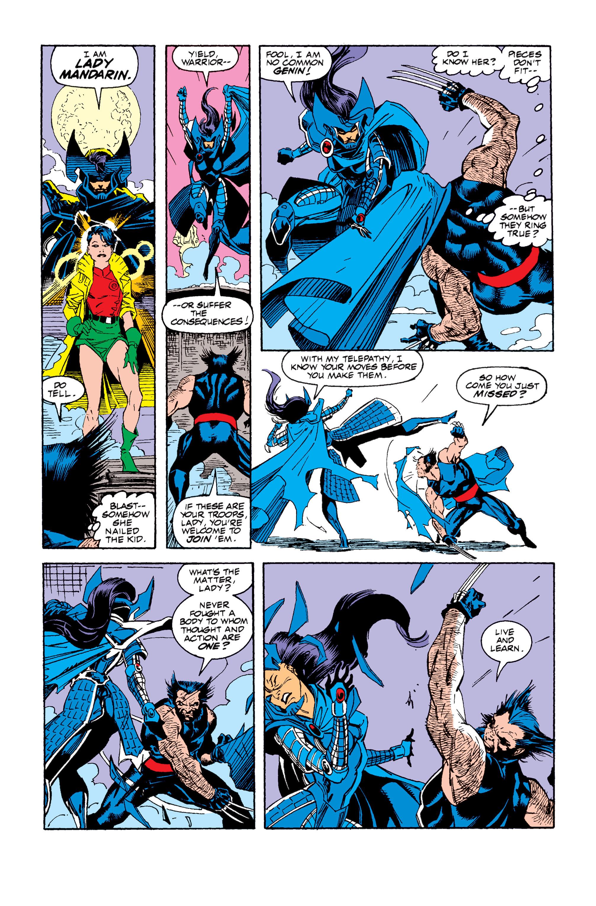 Read online Uncanny X-Men (1963) comic -  Issue #257 - 23