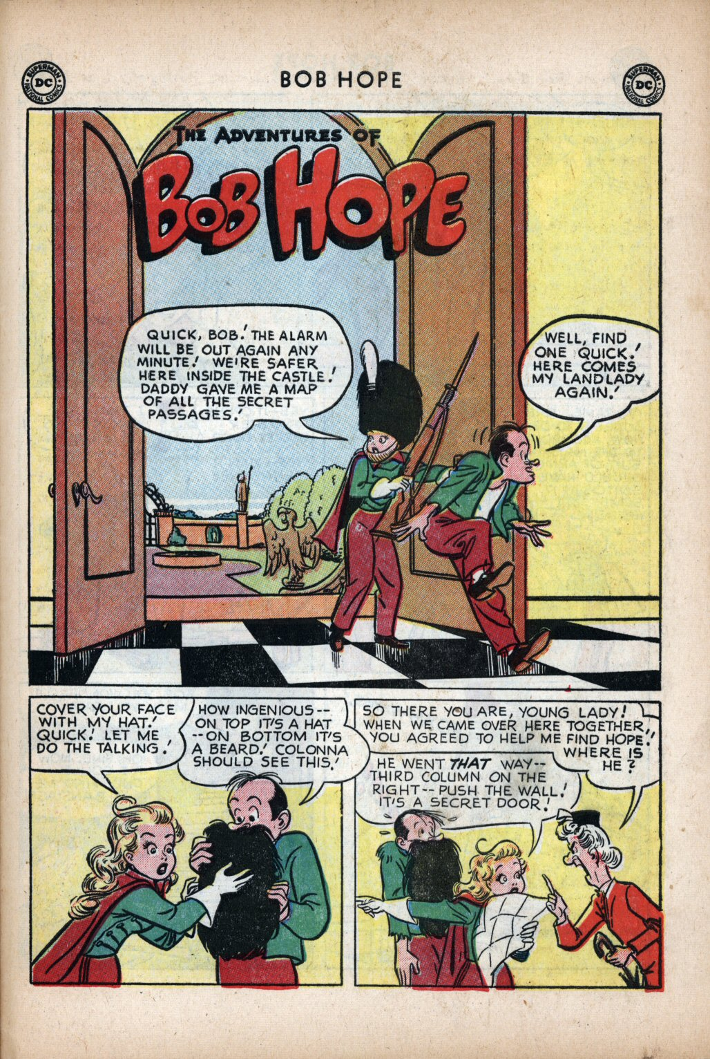 The Adventures of Bob Hope issue 11 - Page 35