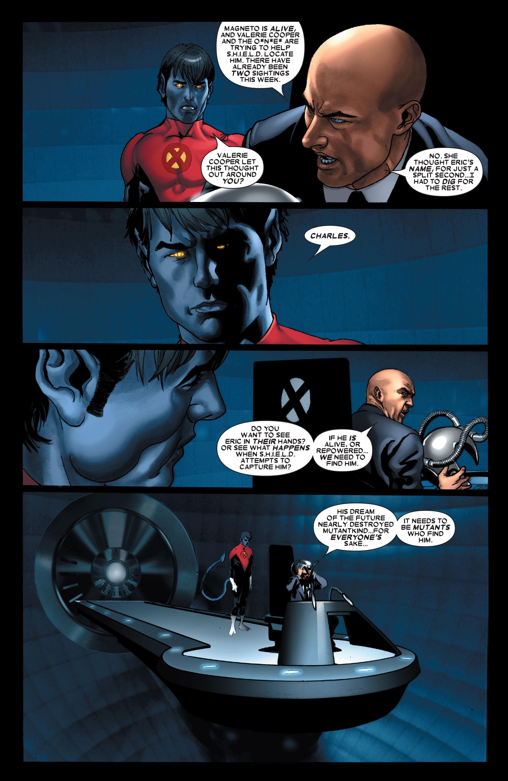 Read online Uncanny X-Men (1963) comic -  Issue #487 - 9