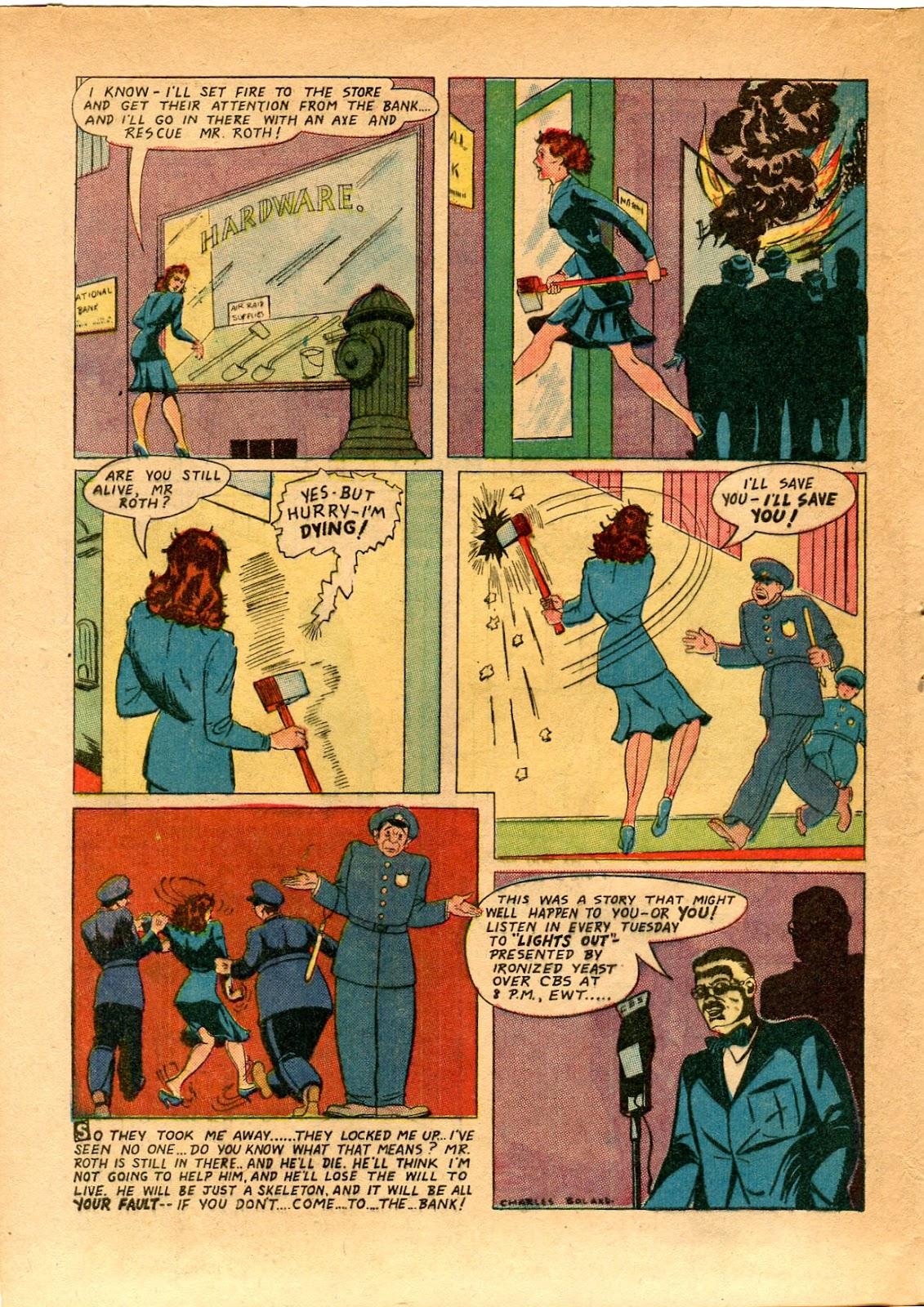 Read online Super-Magician Comics comic -  Issue #33 - 38