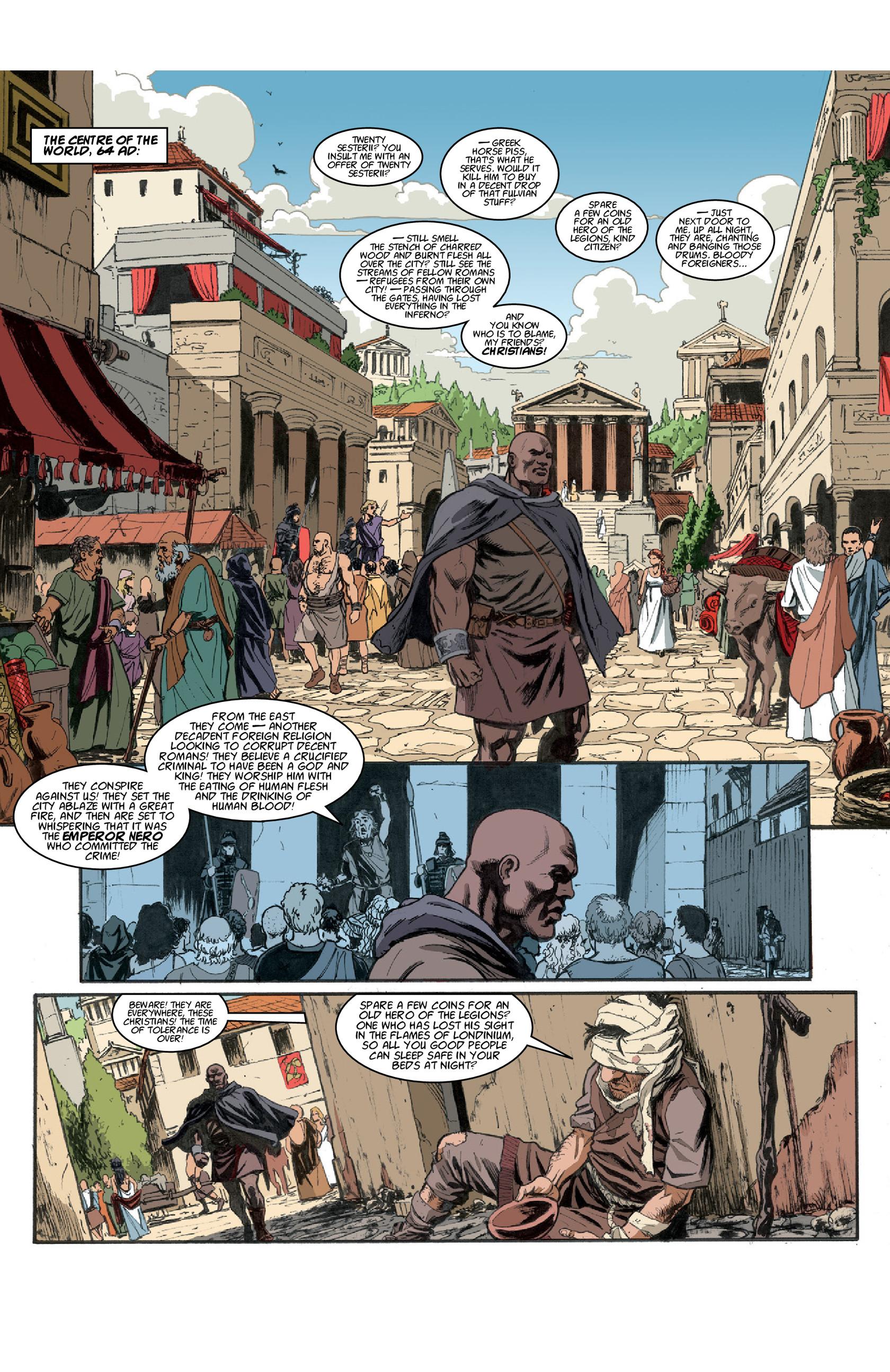 Read online Aquila comic -  Issue #3 - 3