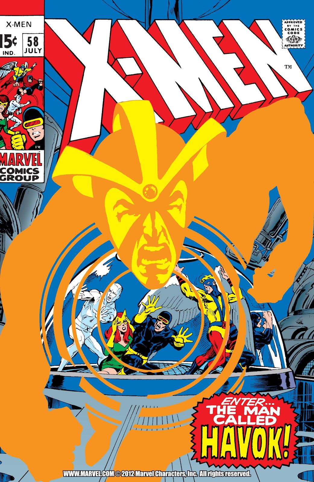 Uncanny X-Men (1963) issue 58 - Page 1