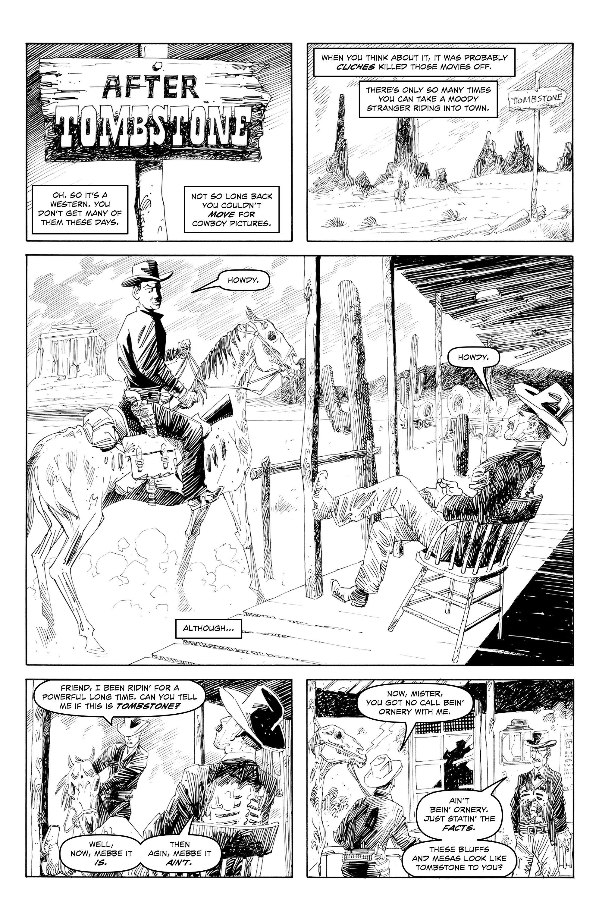 Read online Alan Moore's Cinema Purgatorio comic -  Issue #7 - 6