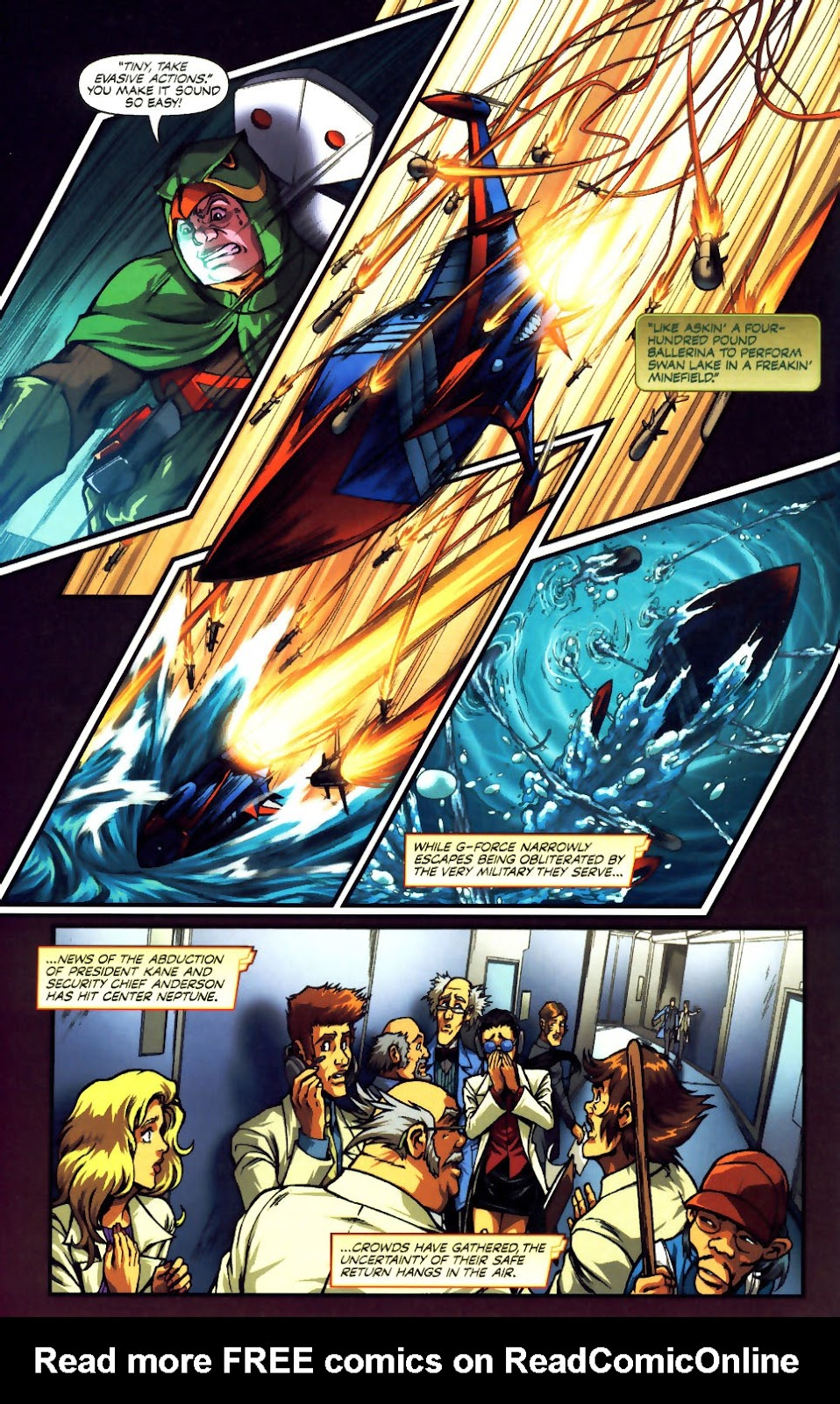 Battle of the Planets Issue #12 #14 - English 9