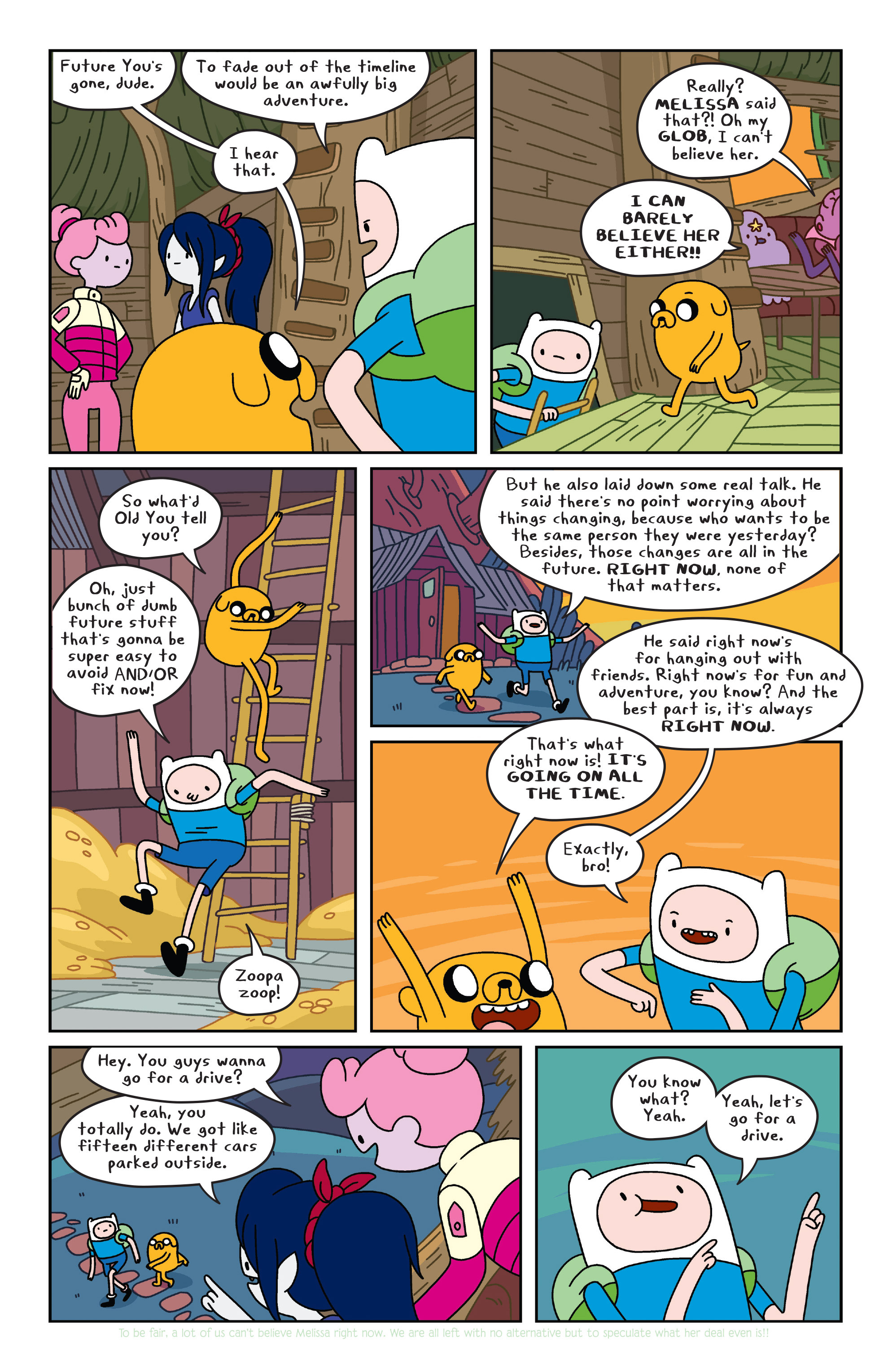 Read online Adventure Time comic -  Issue #34 - 18