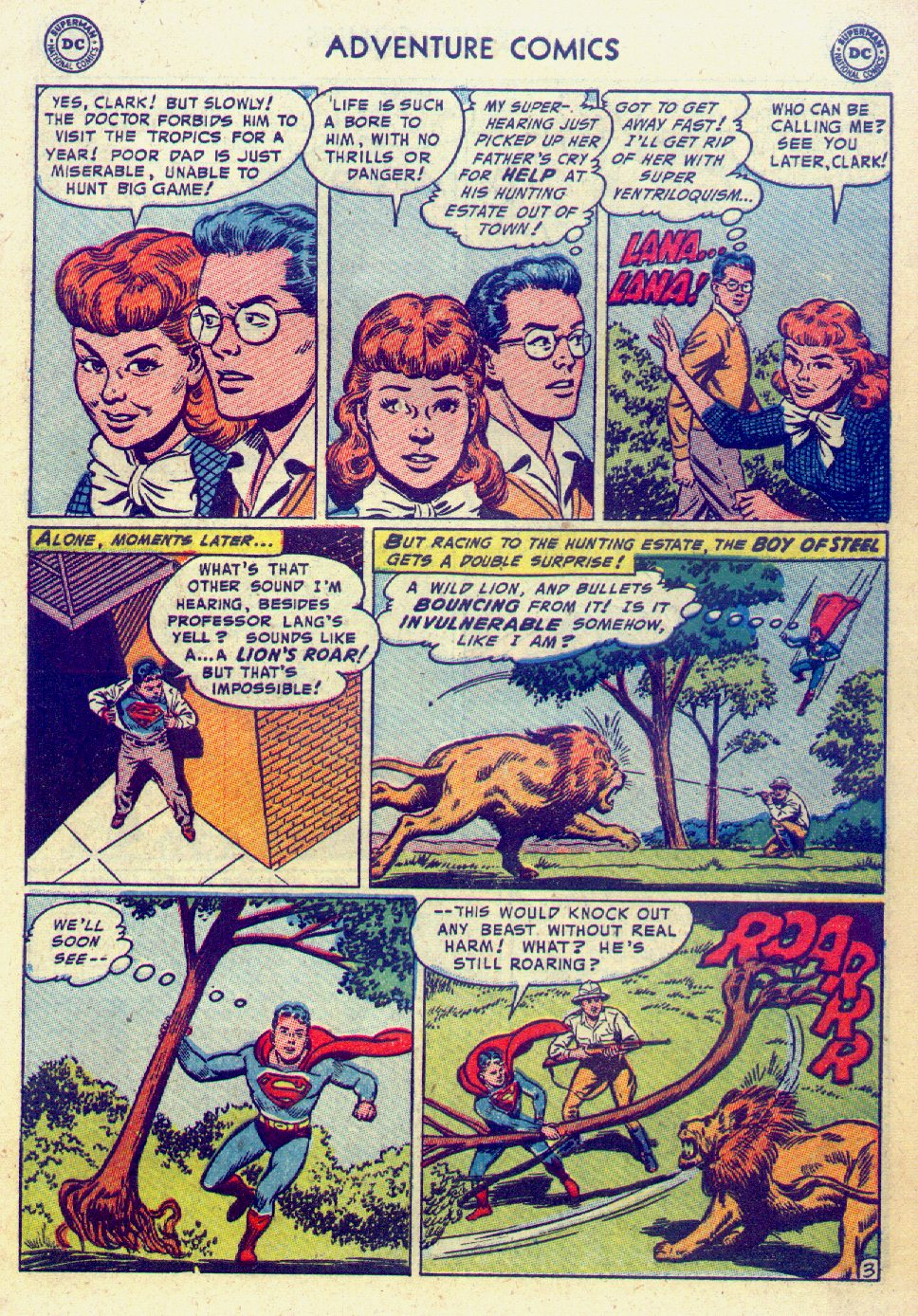 Read online Adventure Comics (1938) comic -  Issue #201 - 5