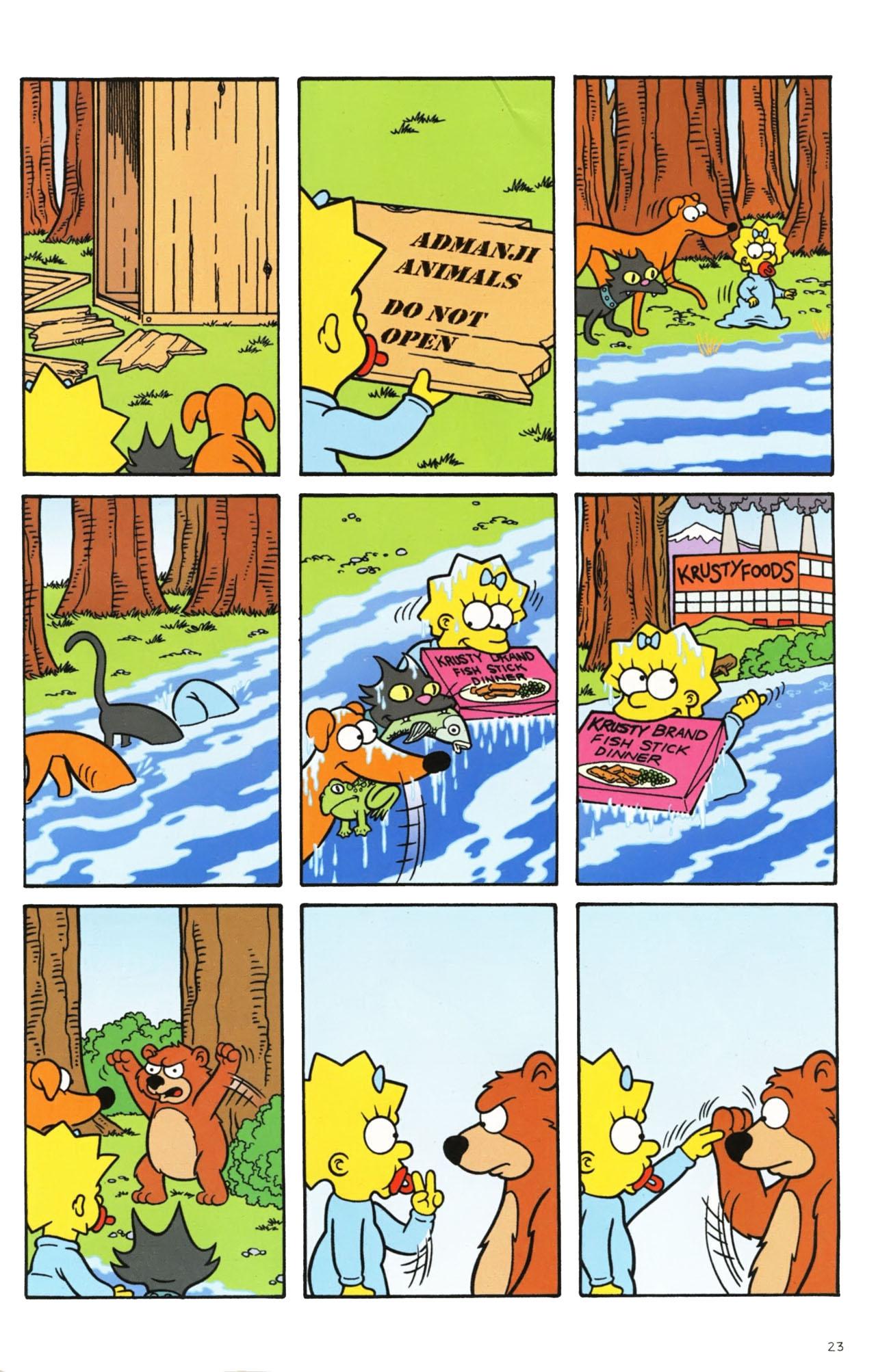Read online Simpsons Comics comic -  Issue #160 - 21