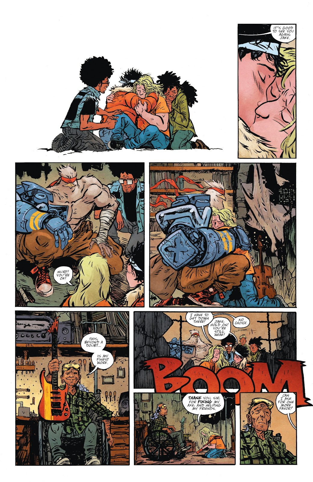 Read online Murder Falcon comic -  Issue #7 - 19