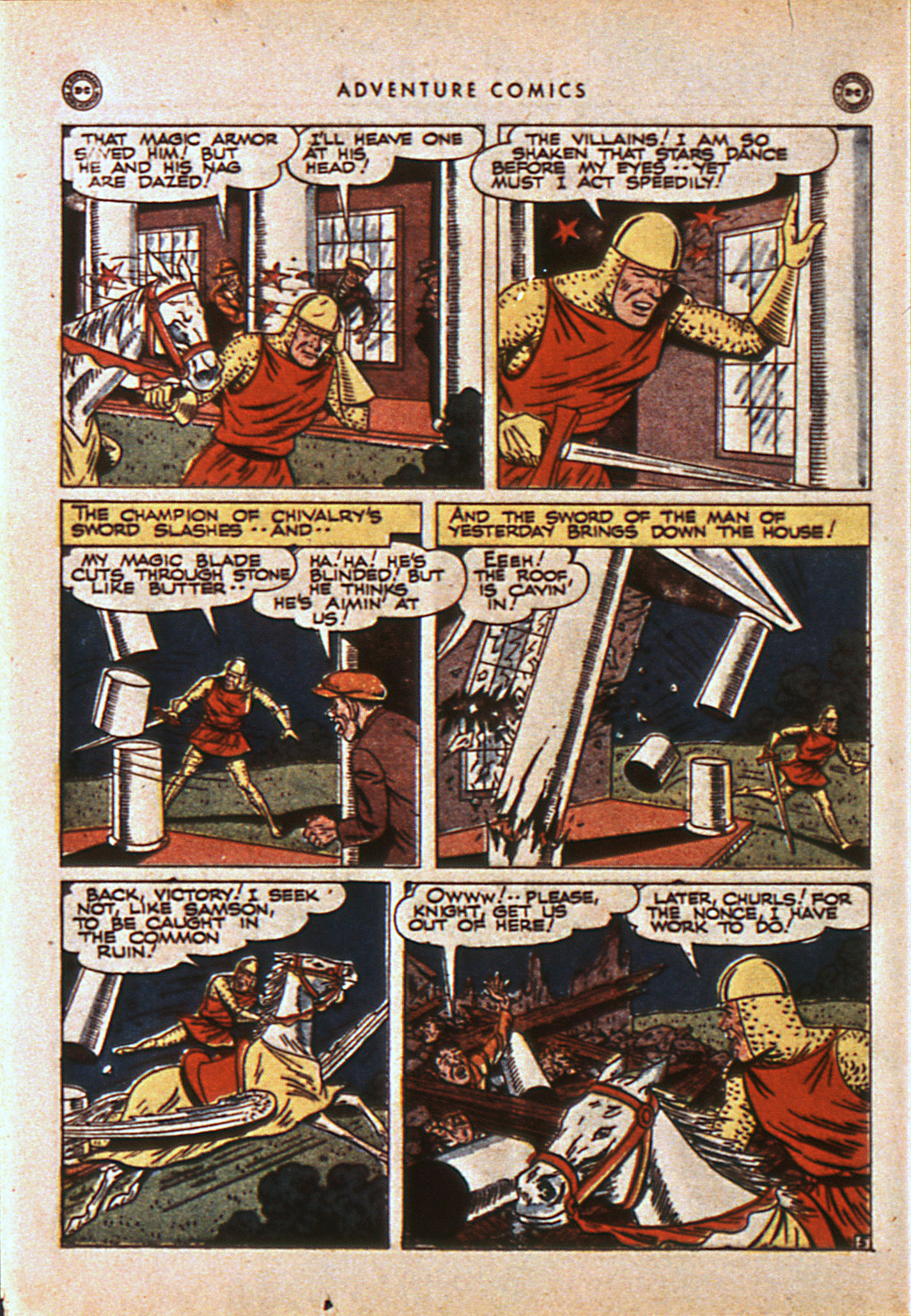 Read online Adventure Comics (1938) comic -  Issue #108 - 37