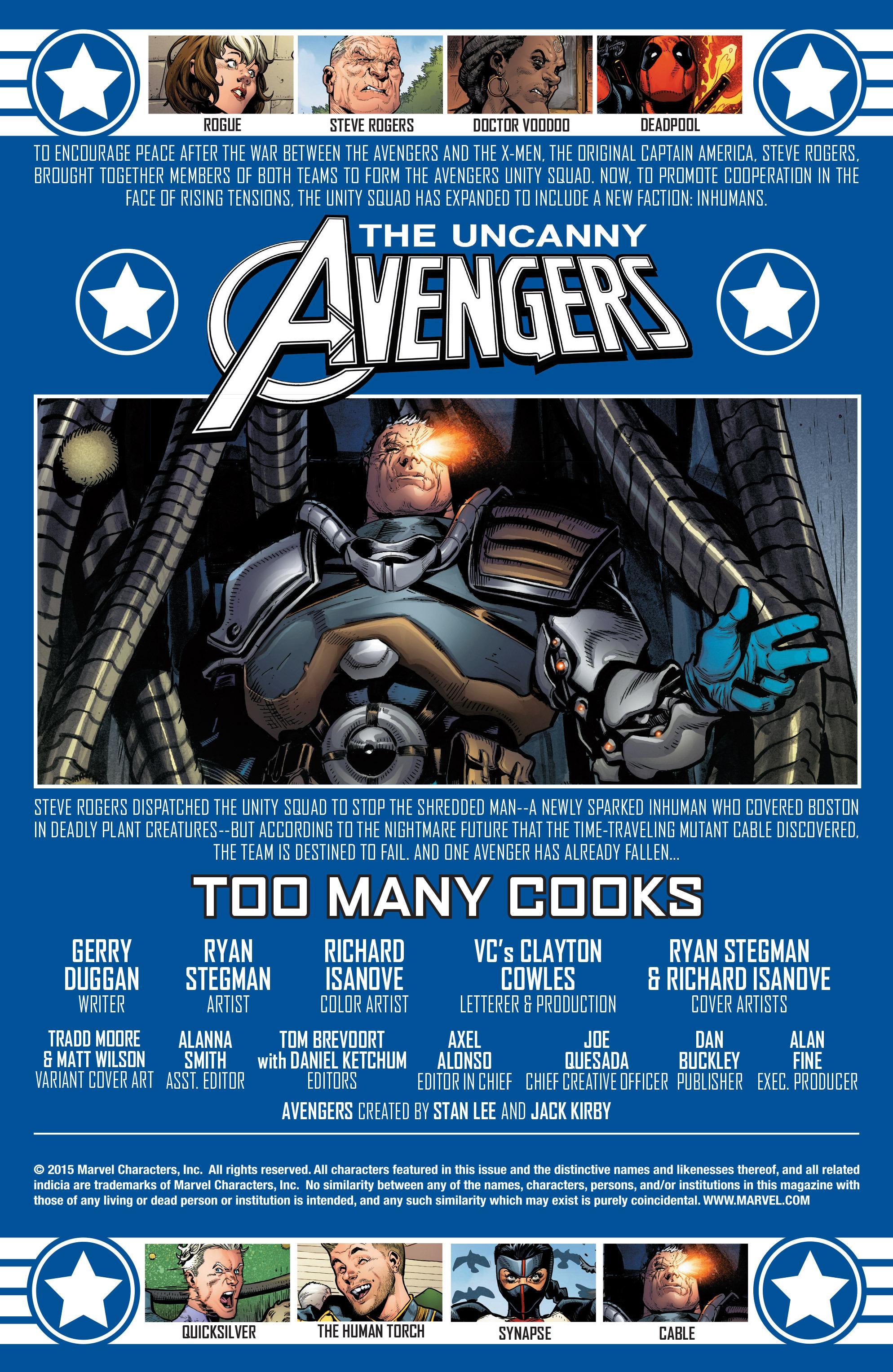 Read online Uncanny Avengers [II] comic -  Issue #3 - 2