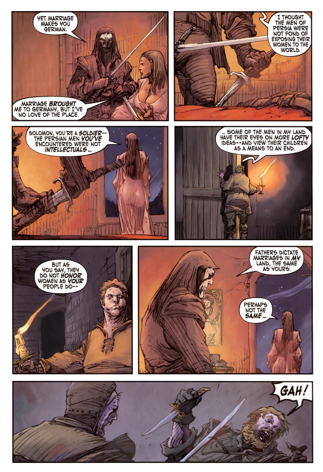 Read online Solomon Kane comic -  Issue #2 - 7