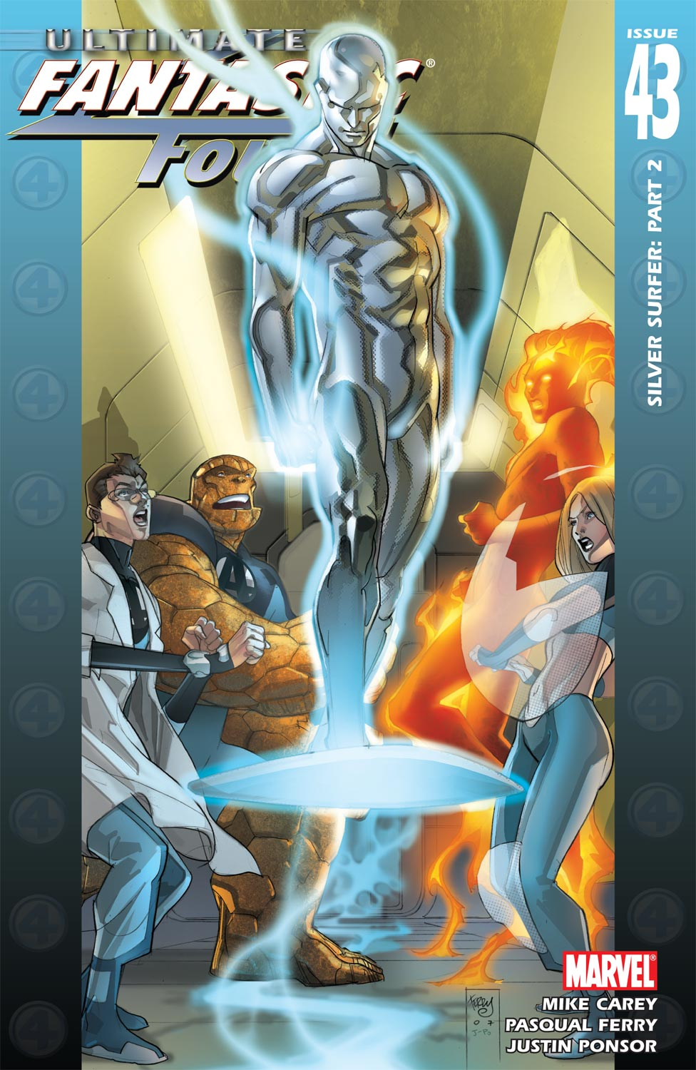 Read online Ultimate Fantastic Four (2004) comic -  Issue #43 - 1