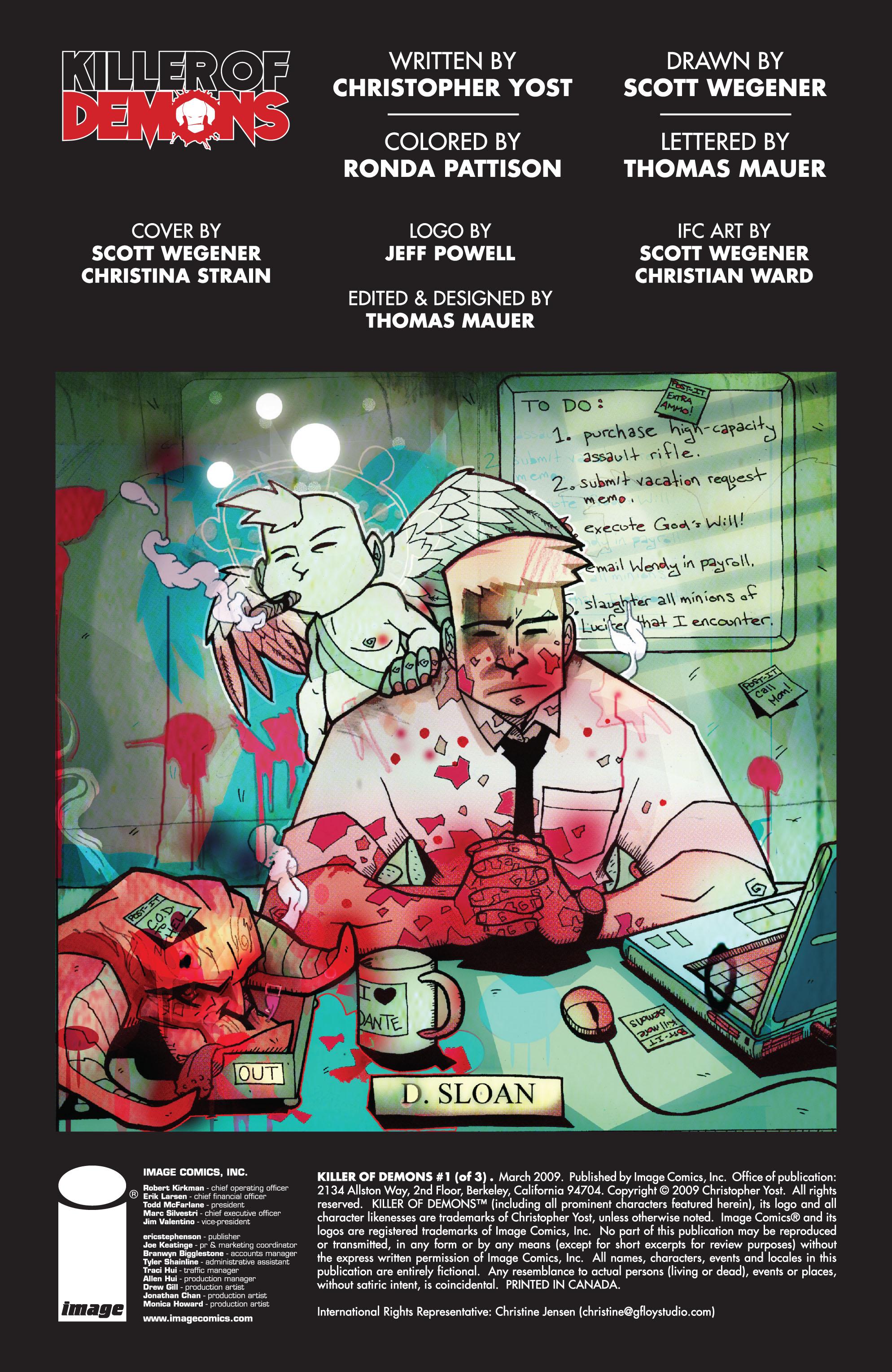 Read online Killer Of Demons comic -  Issue #1 - 2