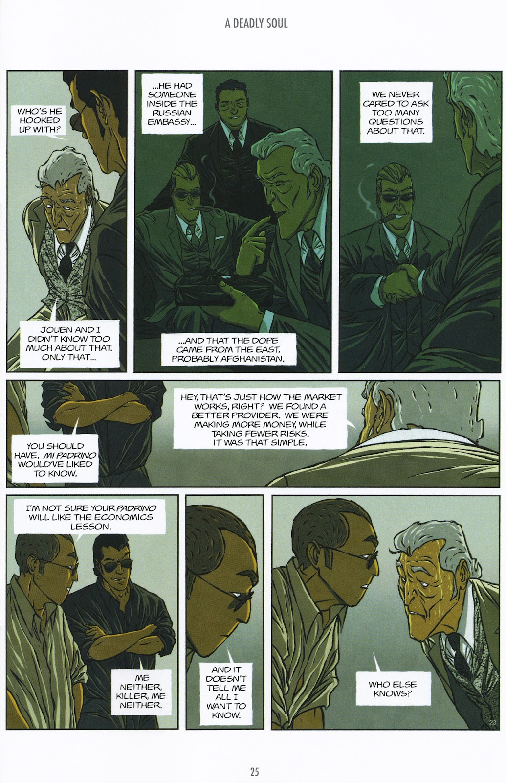 Read online The Killer comic -  Issue #9 - 25