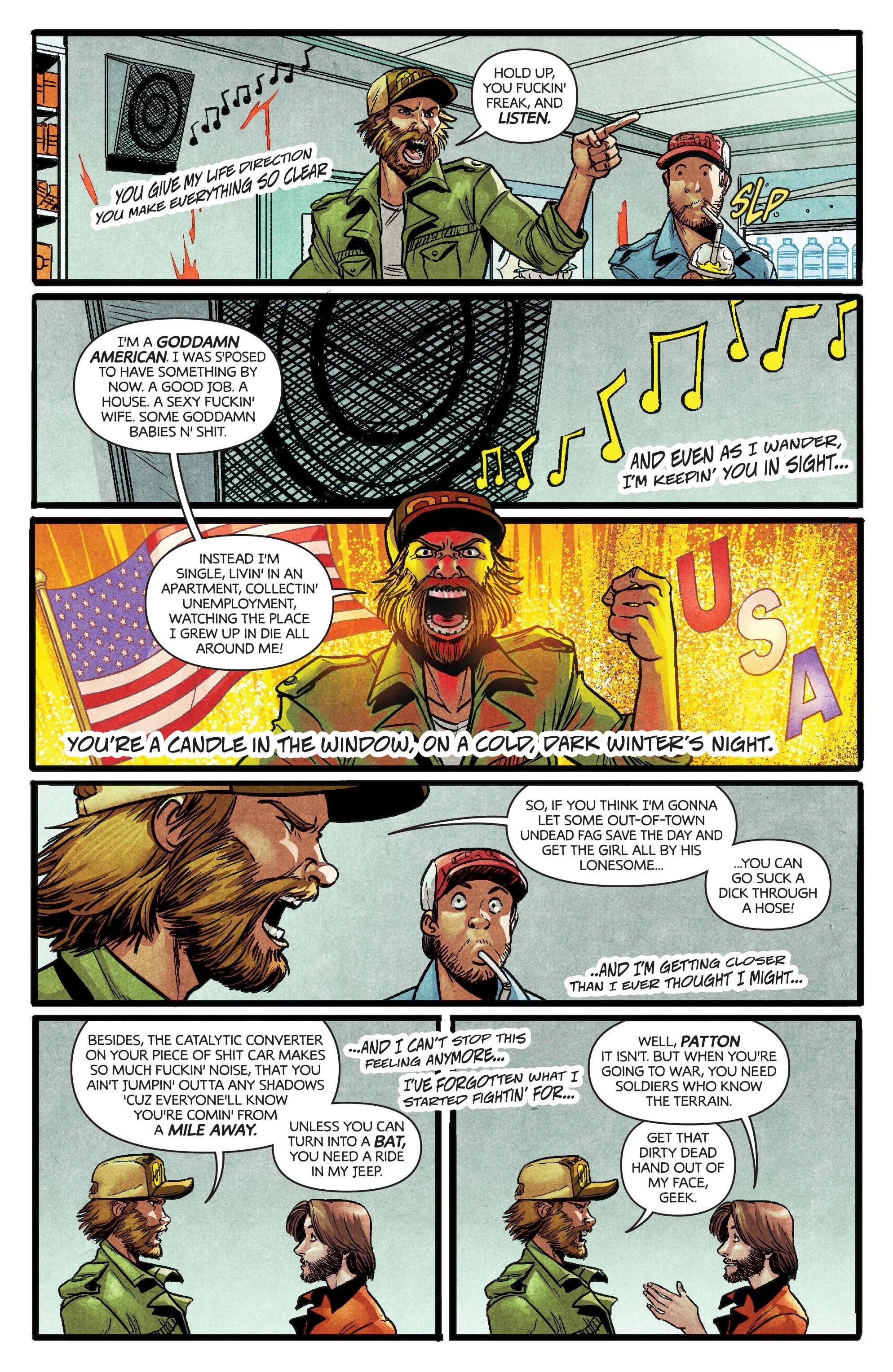 Read online Dark Red comic -  Issue #4 - 11