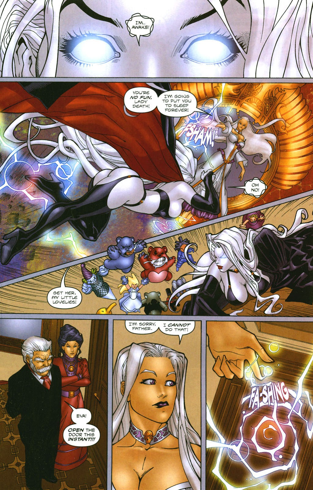 Read online Lady Death: The Wicked comic -  Issue #1 - 27