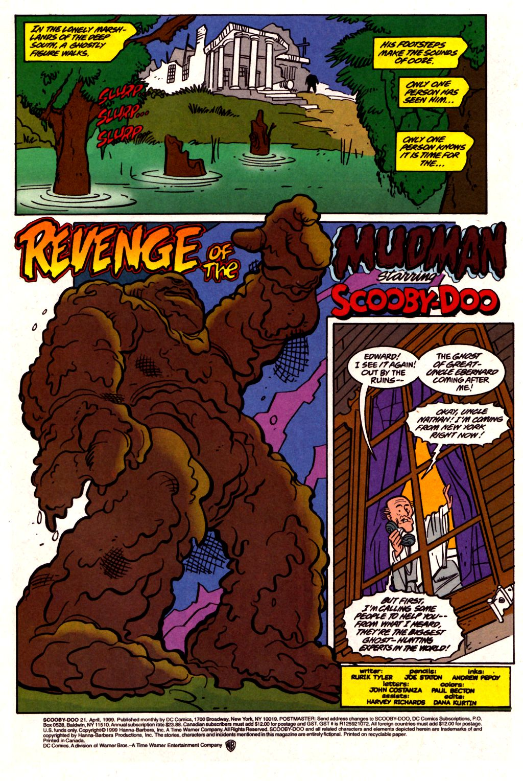 Read online Scooby-Doo (1997) comic -  Issue #21 - 2