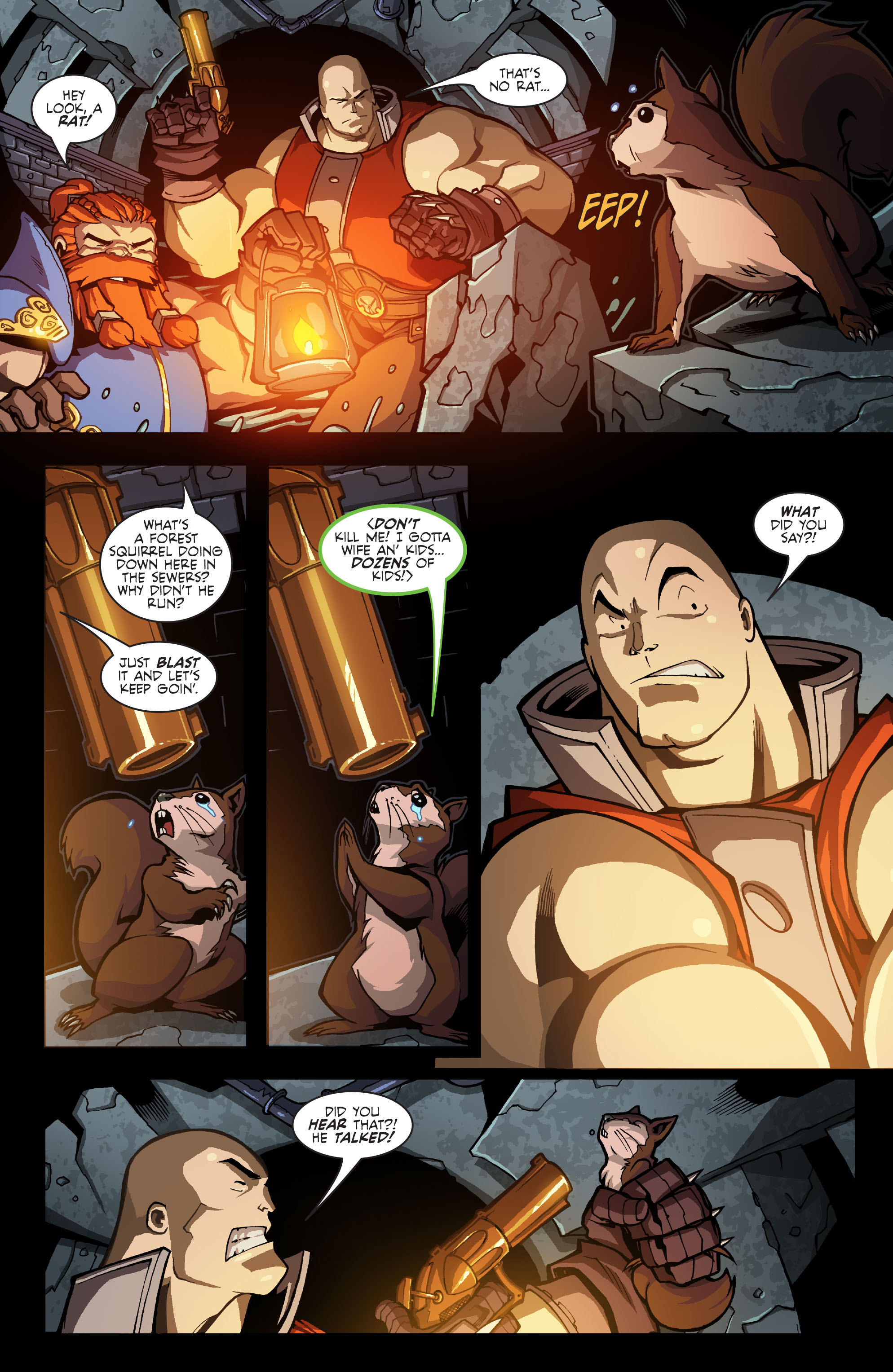 Read online Skullkickers comic -  Issue #9 - 16