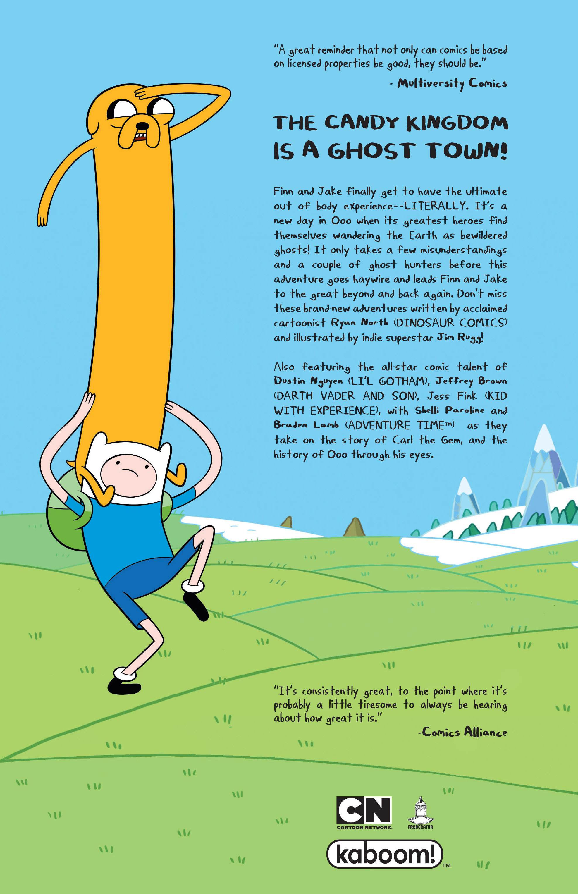 Read online Adventure Time comic -  Issue #Adventure Time _TPB 6 - 127
