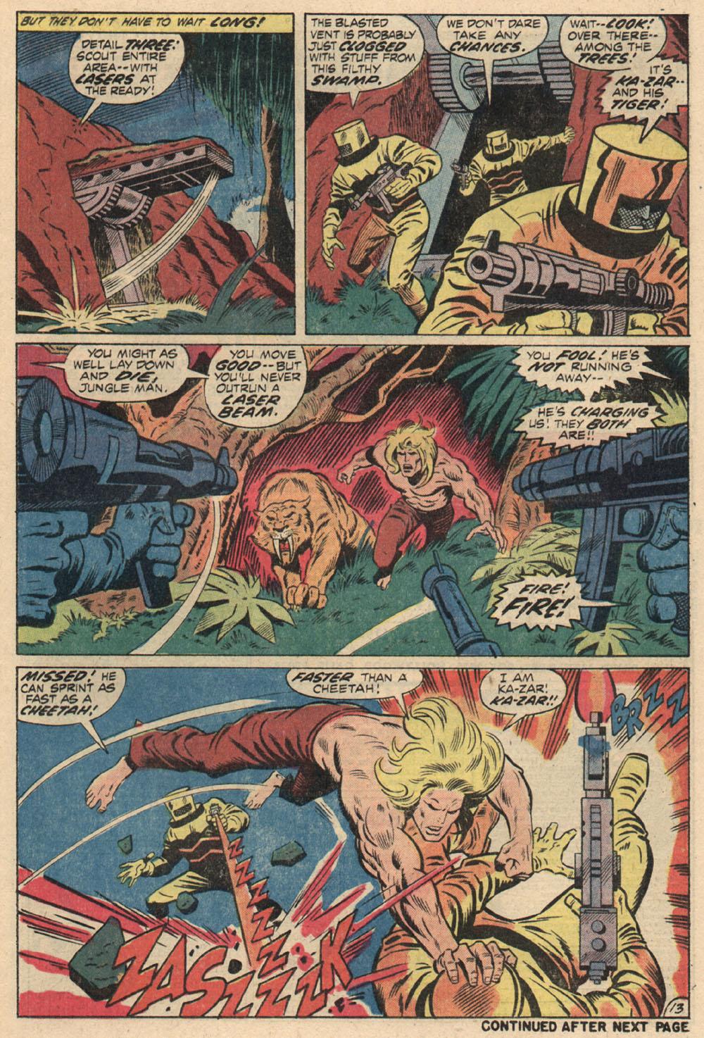 Read online Astonishing Tales (1970) comic -  Issue #13 - 14